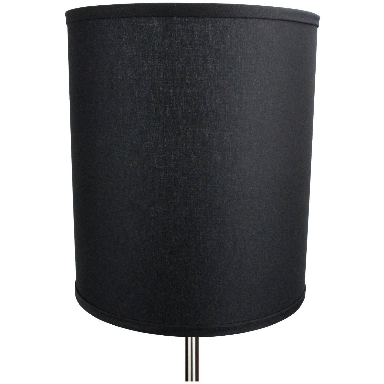 fenchel shades 12 linen drum lamp shade. Black Bedroom Furniture Sets. Home Design Ideas