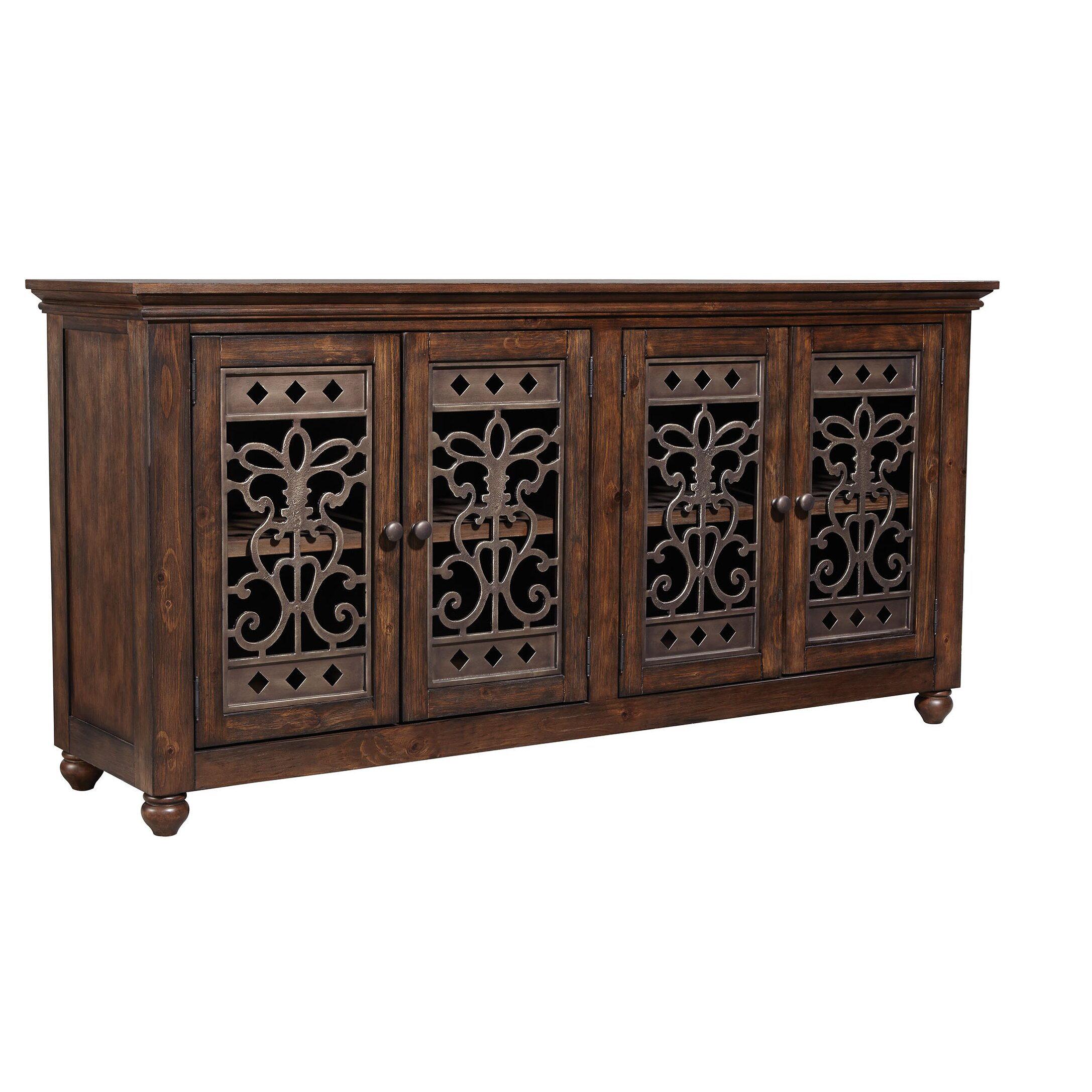 fleur de lis living melinda sideboard reviews. Black Bedroom Furniture Sets. Home Design Ideas