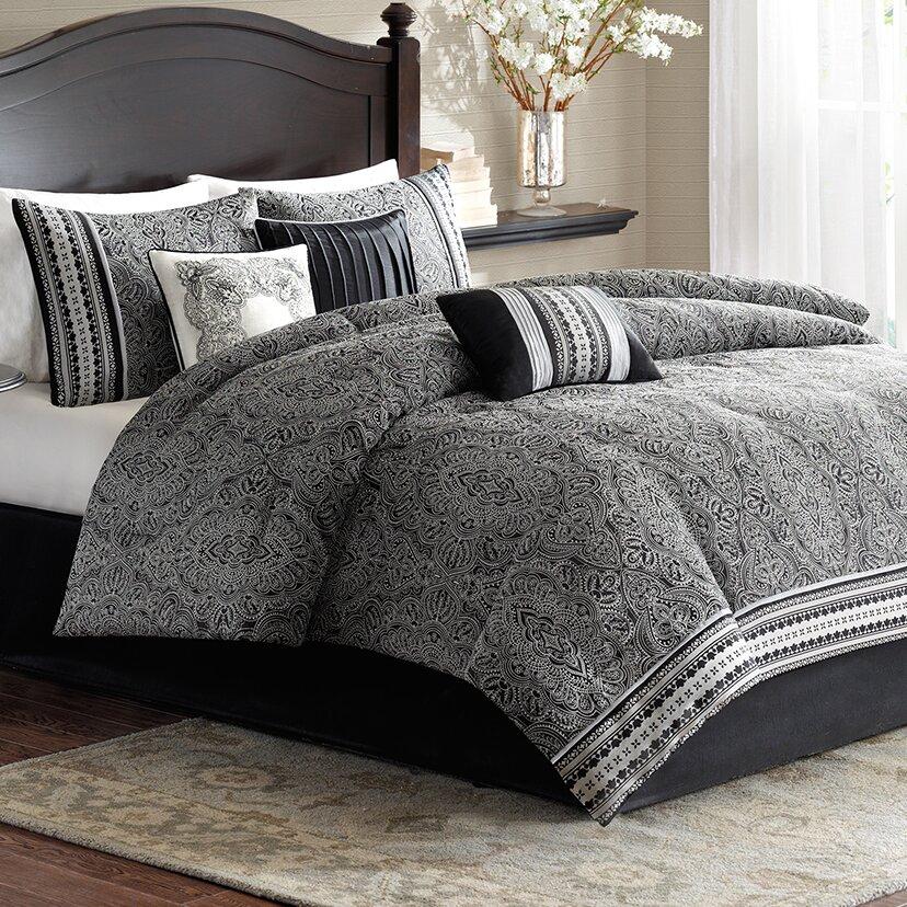 Fleur de lis living chowdhury 7 piece comforter set - Fleur de lis bedspread ...