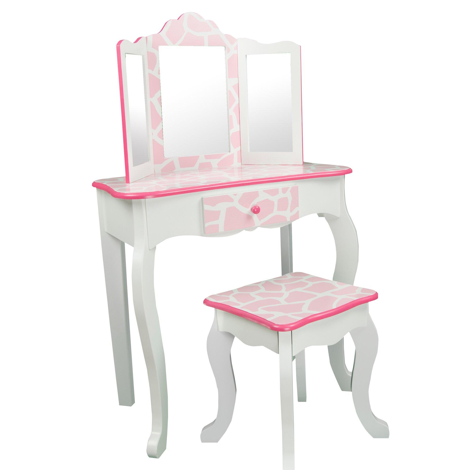 Kids Bedroom Vanity Girl Vanity Desk Hostgarcia