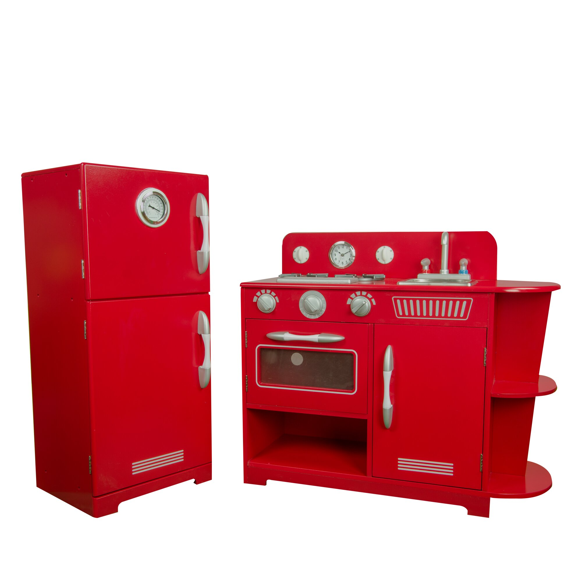 Play Kitchen Play Kitchen Sets Accessories Youll Love Wayfair