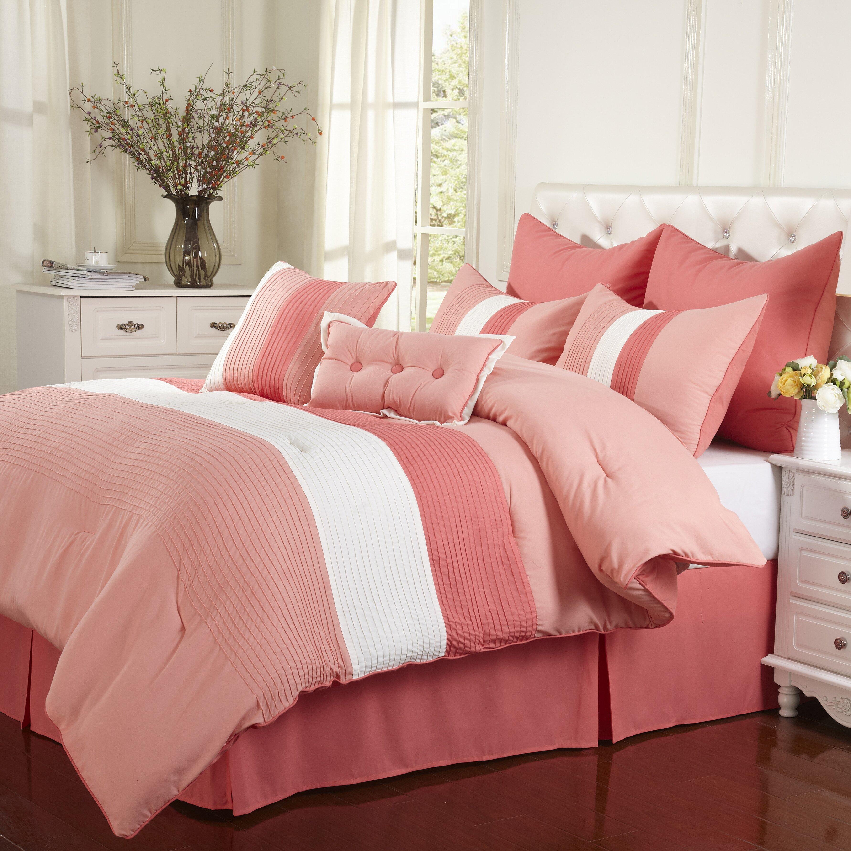Simple Luxury Florence 8 Piece Reversible Comforter Set Reviews