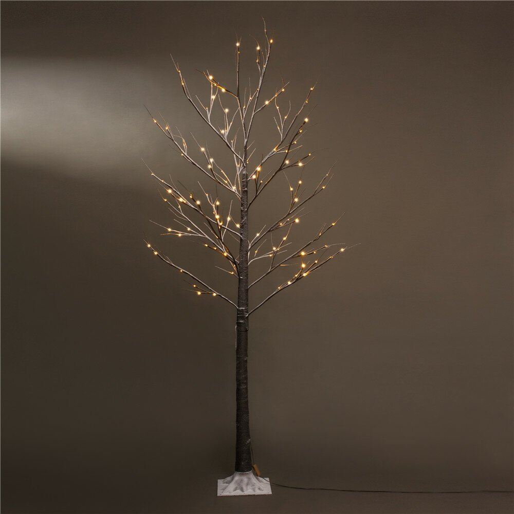 Patch Magic 7 Brown Artifical Christmas Tree With 120 Led