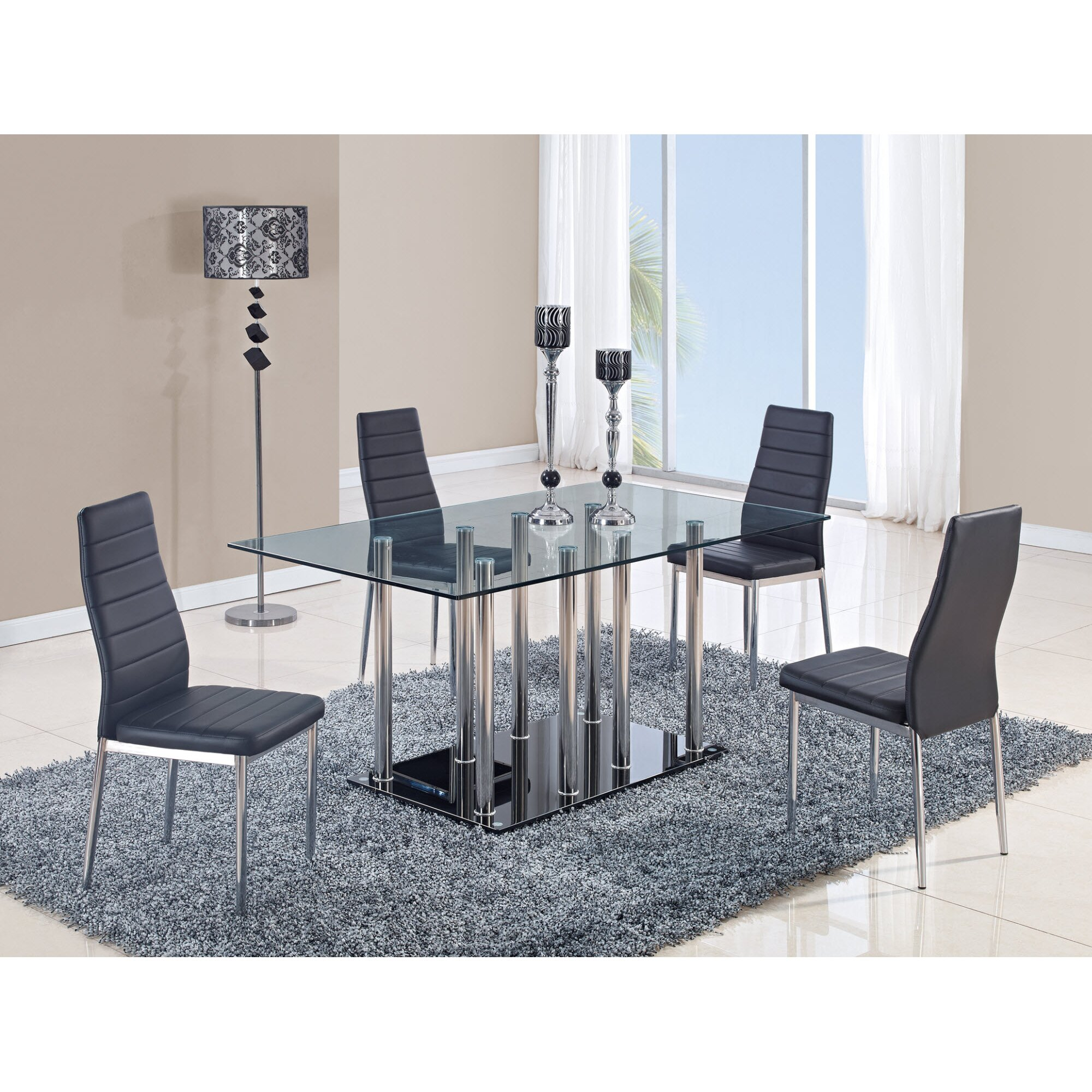 Global furniture usa dining table reviews wayfair for Dining room tables usa