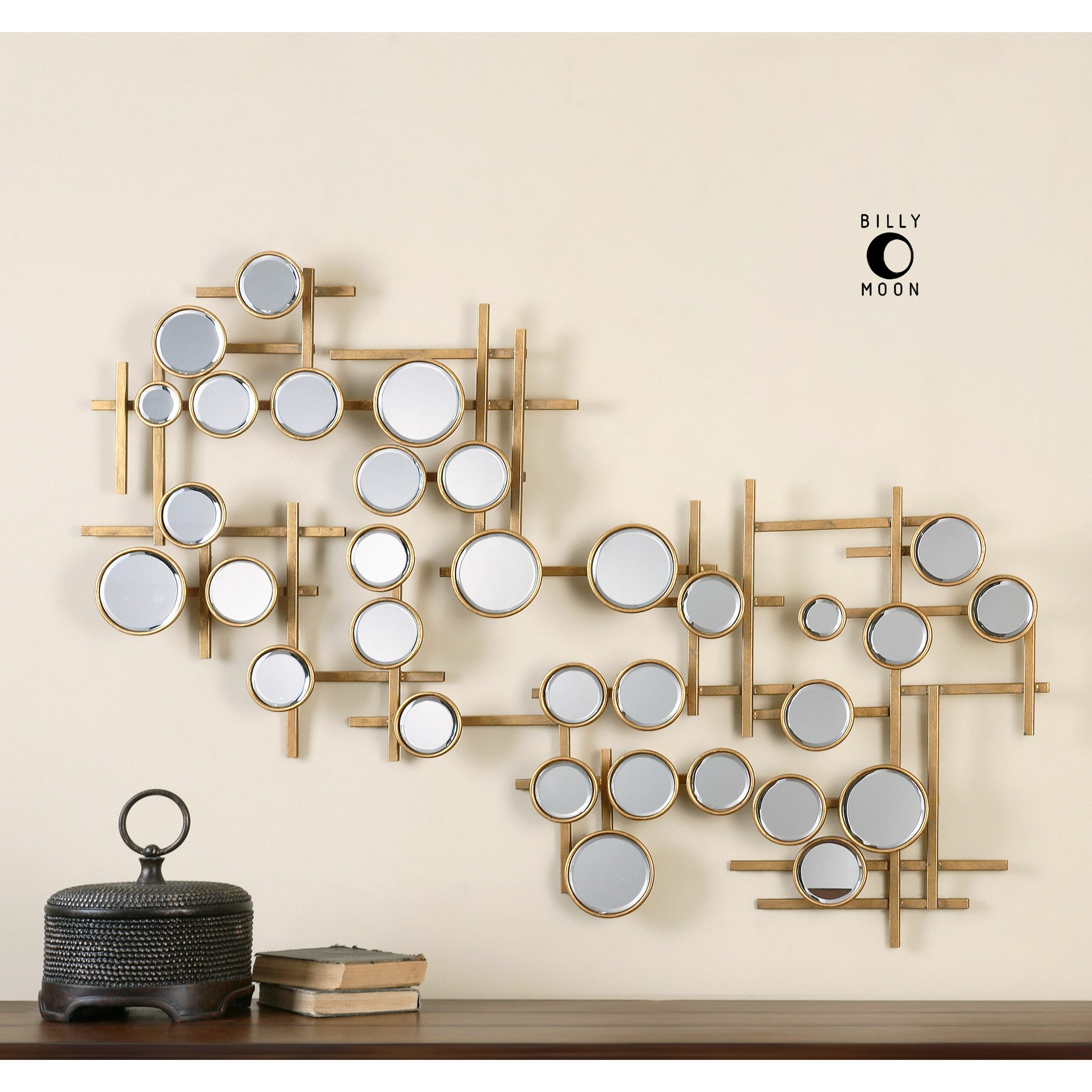 uttermost britton mirrored wall decor - Mirrored Wall Decor