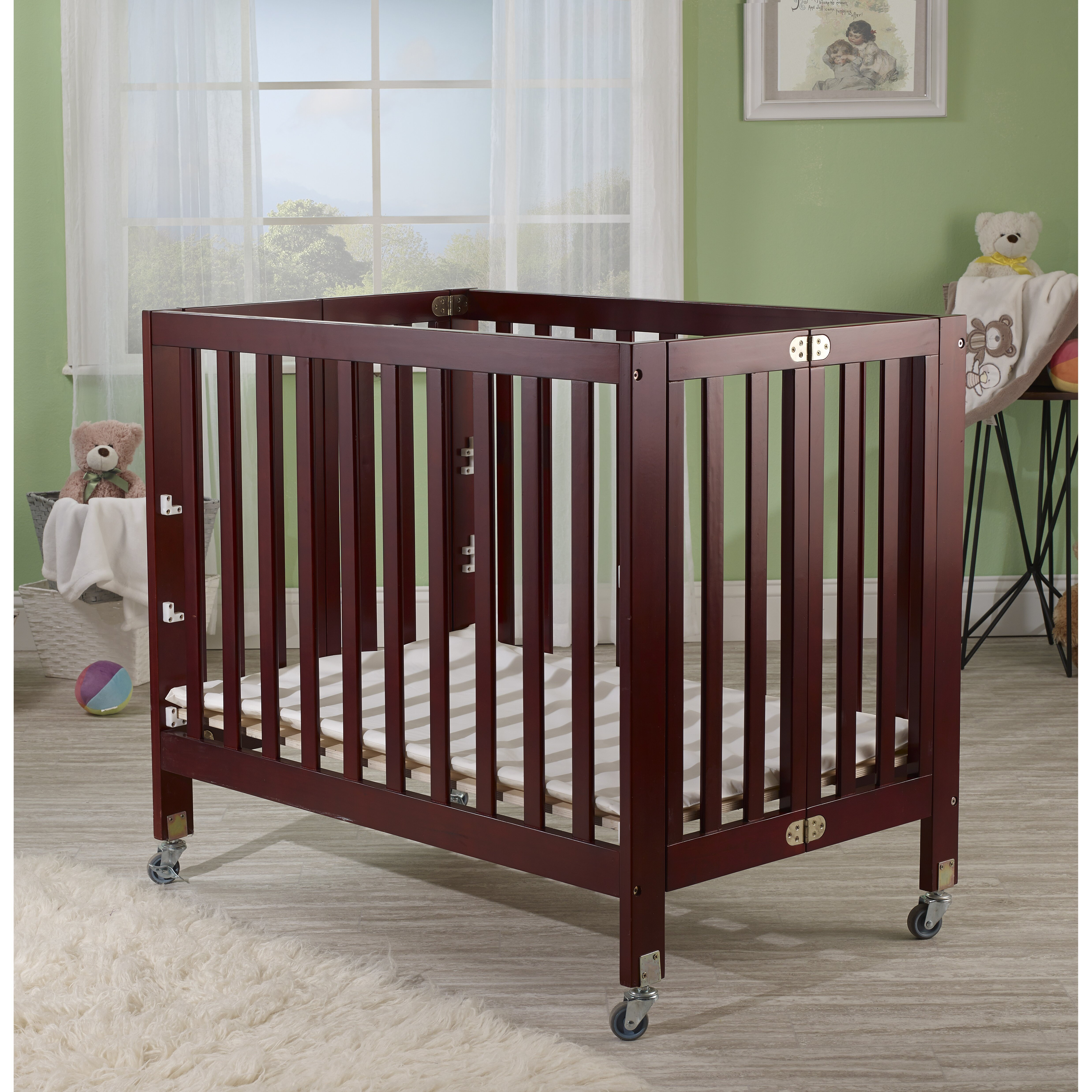 Baby cribs for daycare centers - Roxy Portable Crib