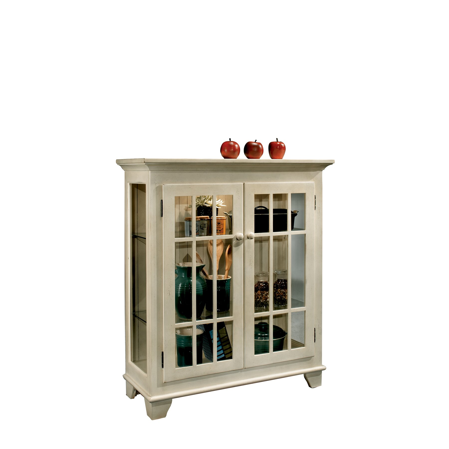 Bailey Cabinet Company Philip Reinisch Co Colortime Console Curio Cabinet Reviews