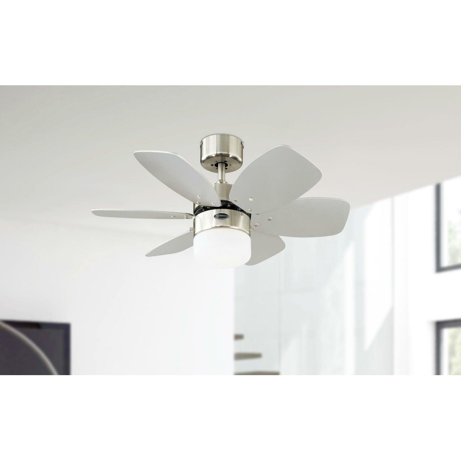 Westinghouse 76cm Floral Royal 6 Blade Ceiling Fan