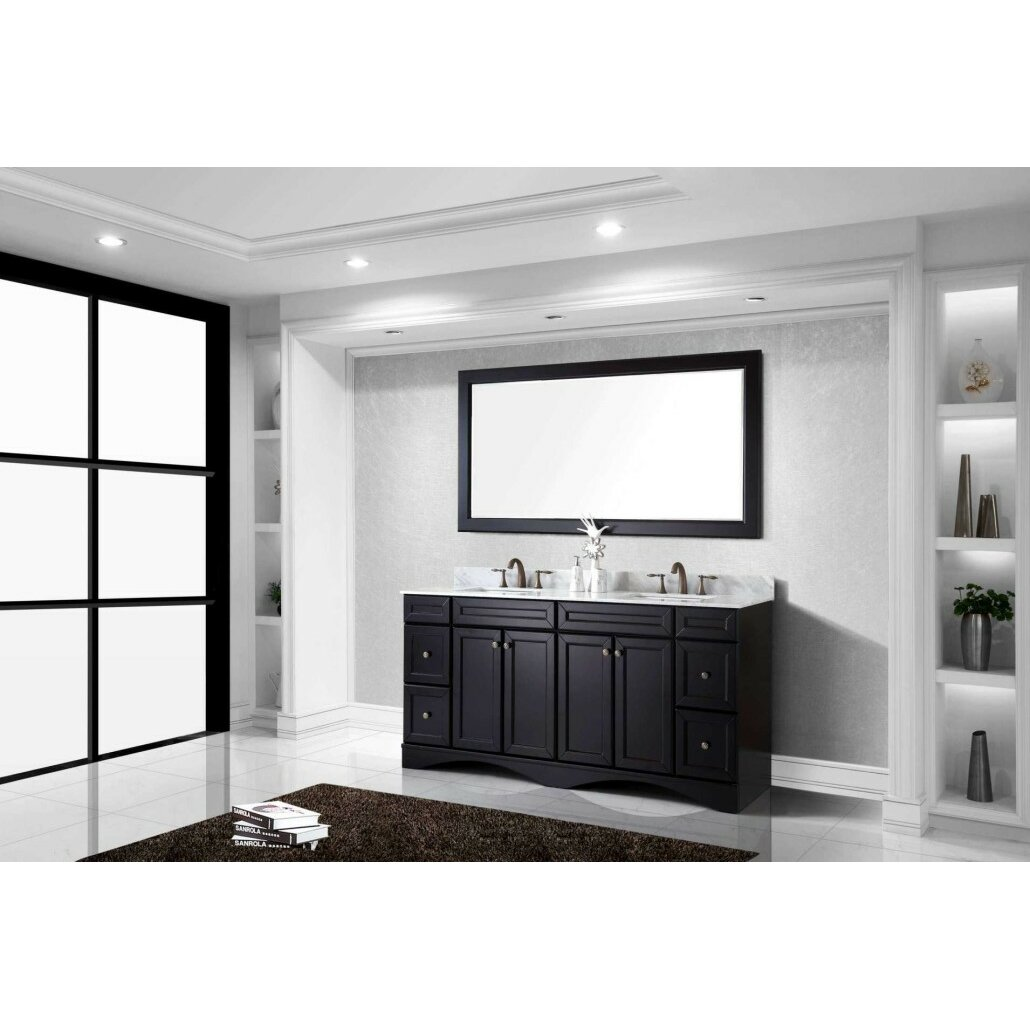 White Bathroom Vanity Cabinet Virtu Talisa 71 Bathroom Vanity Cabinet Reviews Wayfair