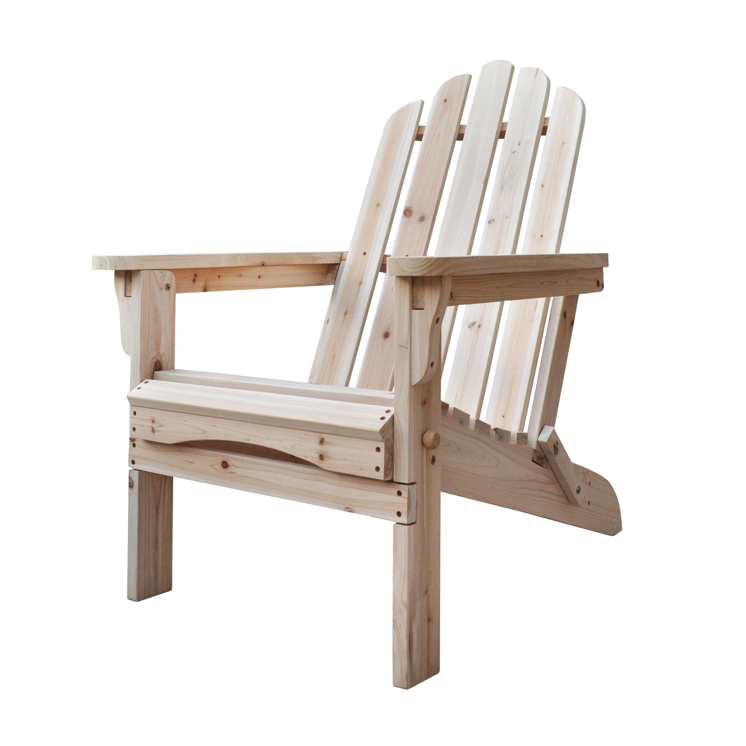 Amazing photo of Shine Company Inc. Marina Folding Adirondack Chair & Reviews Wayfair  with #4C3021 color and 2394x2394 pixels