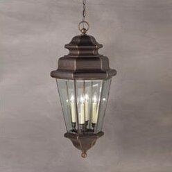 Kichler Savannah Estates 4 Light Outdoor Hanging Lantern