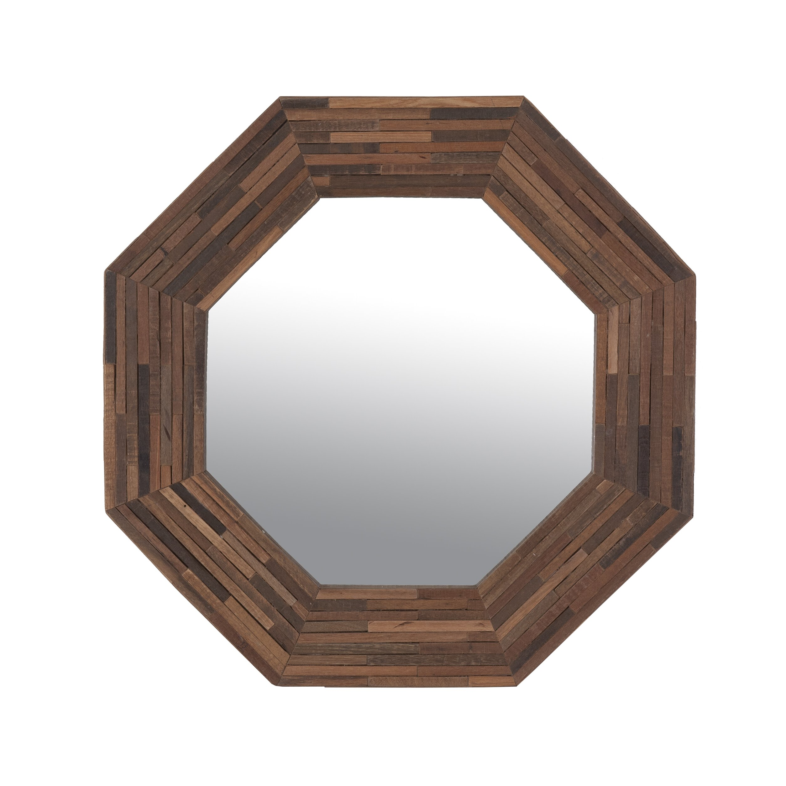 Rosario accent wall mirror reviews allmodern for Accent mirrors
