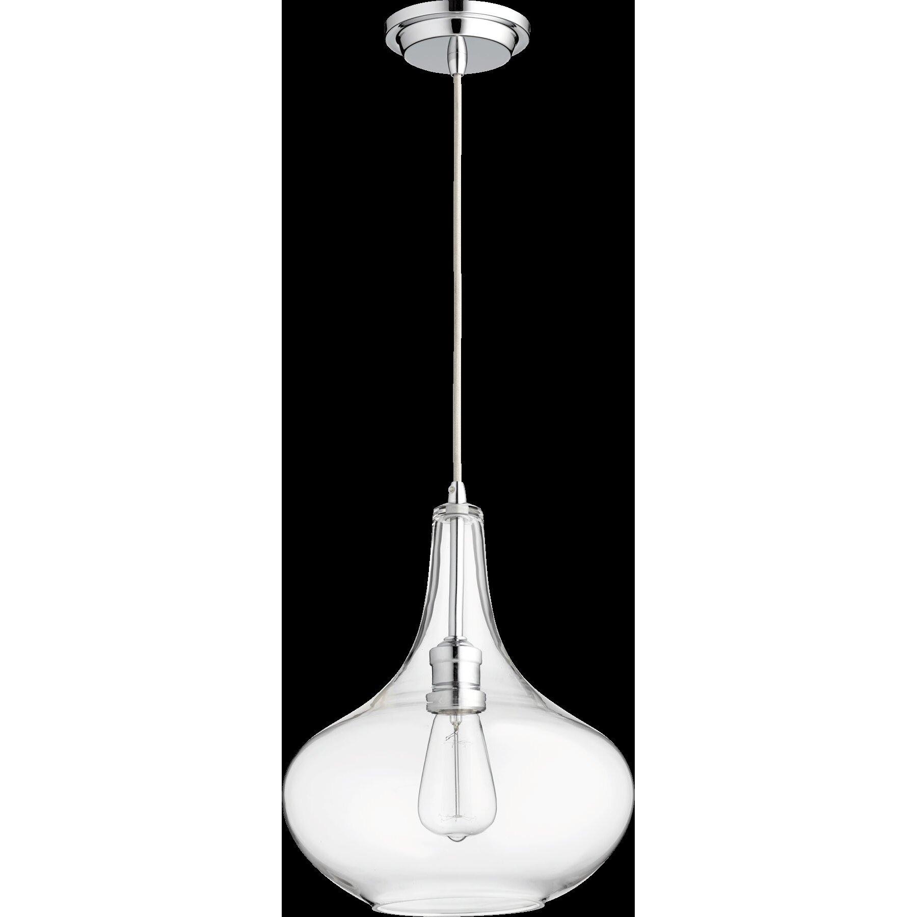 Quorum 1 Light Mini Pendant & Reviews