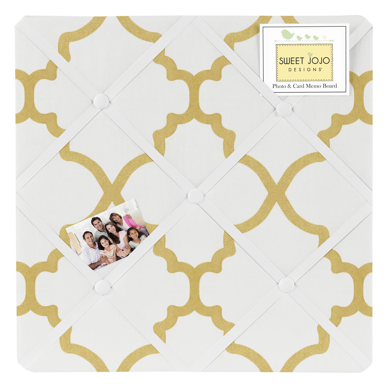 sweet jojo designs trellis memo board reviews wayfair sweet jojo designs trellis memo board