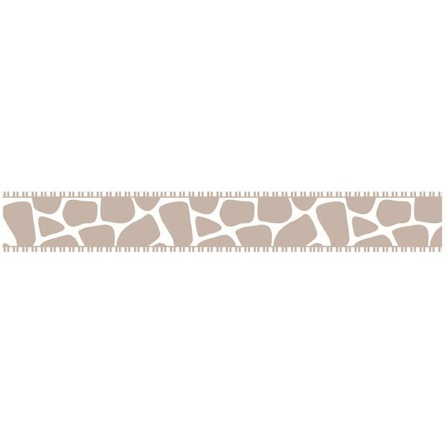 Animal print bathroom sets - Sweet Jojo Designs Giraffe 15 X 6 Quot Leopard Border Wallpaper Wayfair