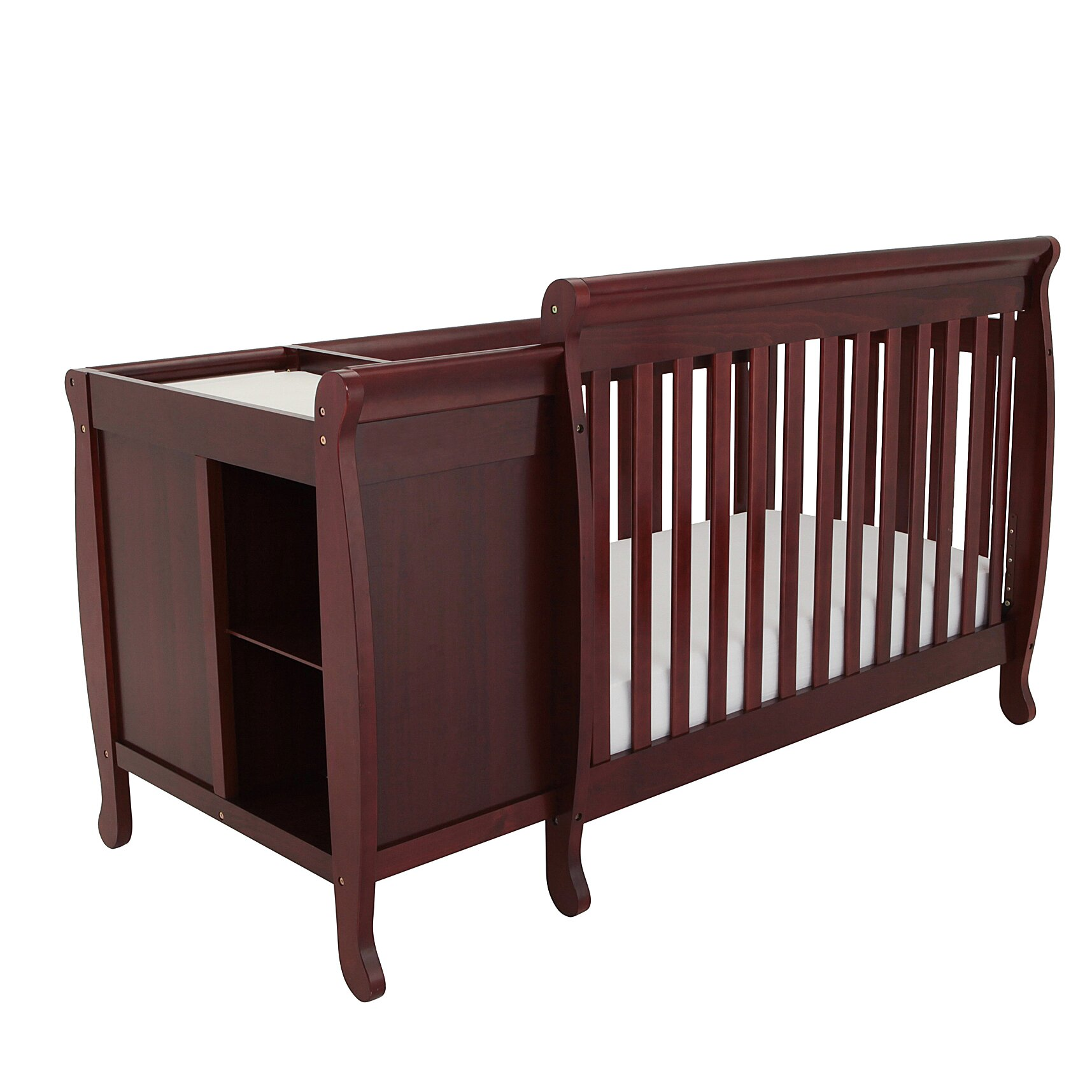 Baby bed furniture - Afg Baby Furniture Kimberly 3 In 1 Convertible Crib
