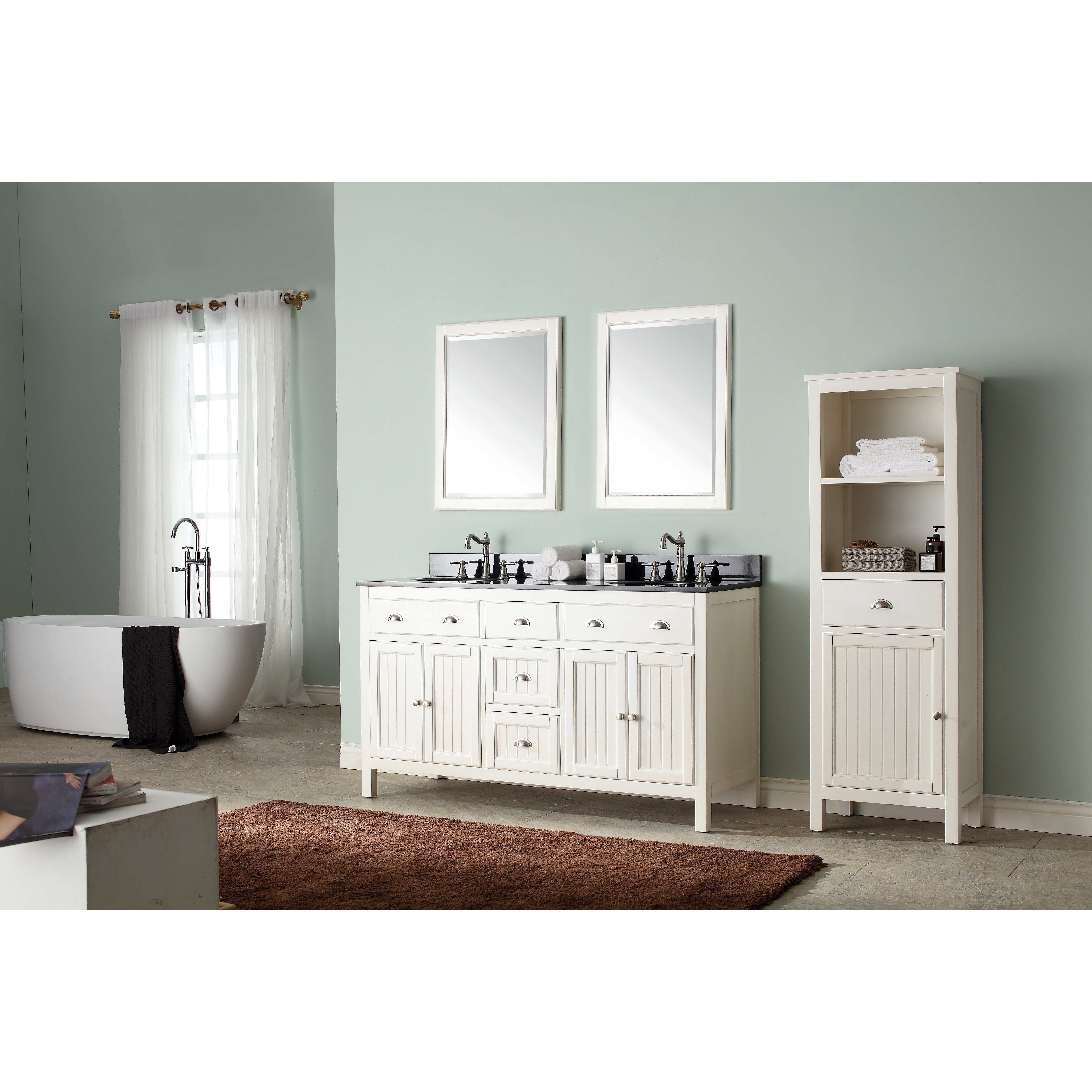 43 Bathroom Vanity #22: Avanity Hamilton 43u0026amp;quot; Single Bathroom Vanity Set