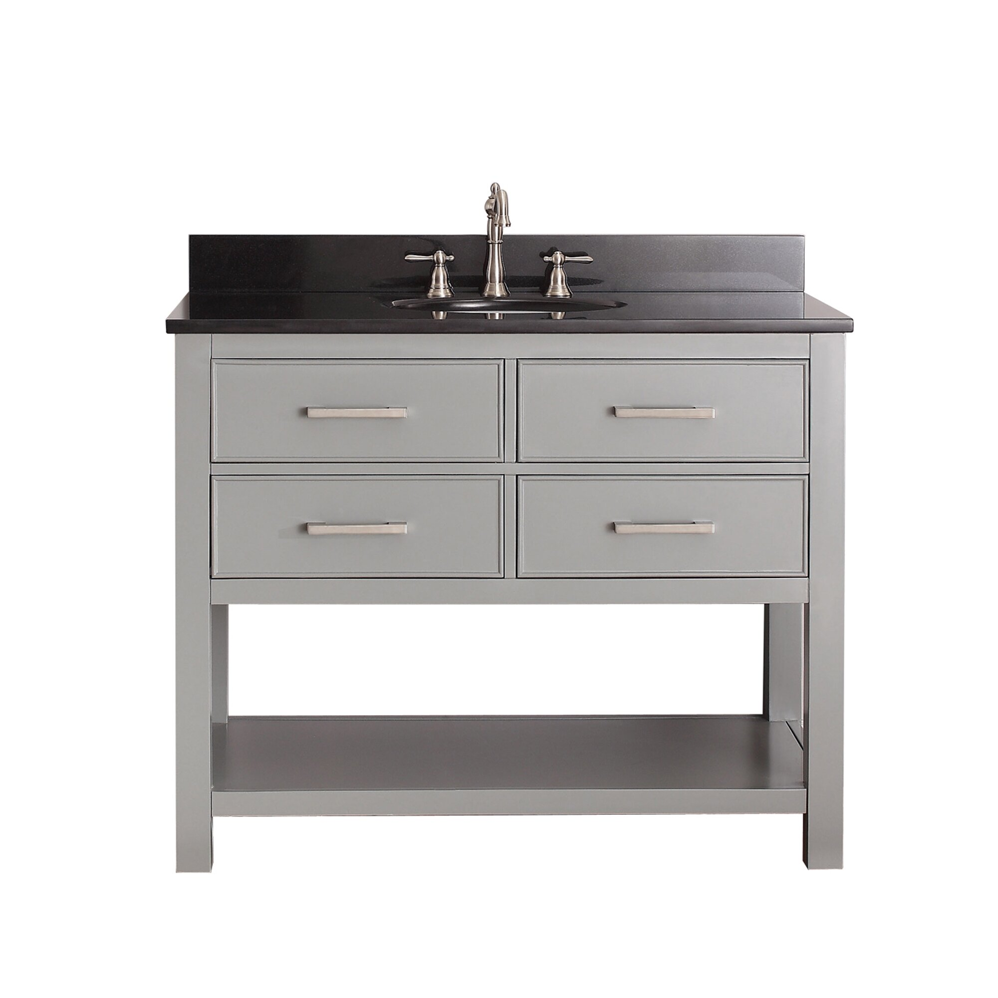 43 Bathroom Vanity #15: Avanity Brooks 43u0026amp;quot; Single Bathroom Vanity Set