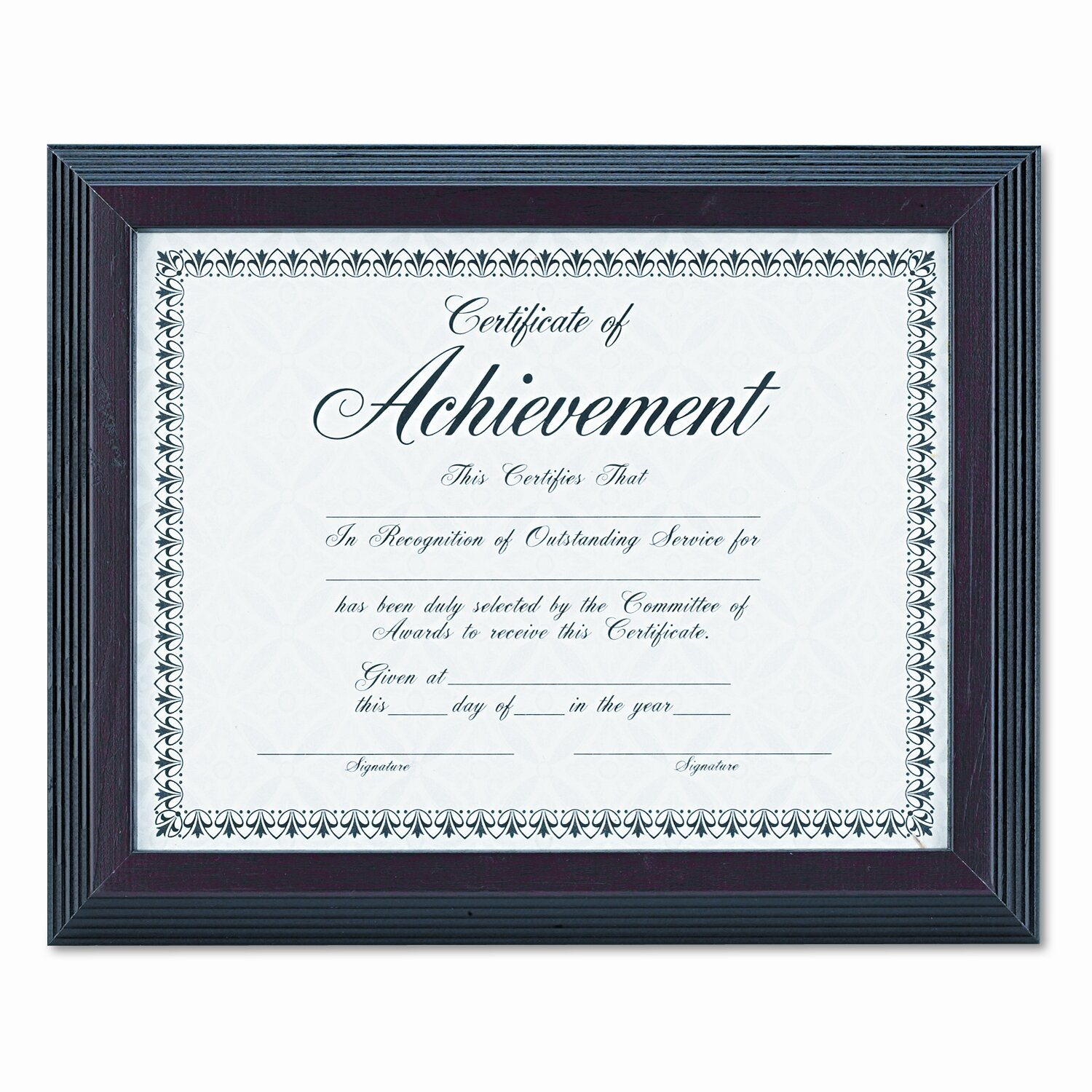 dax solid wood awardcertificate frame 85