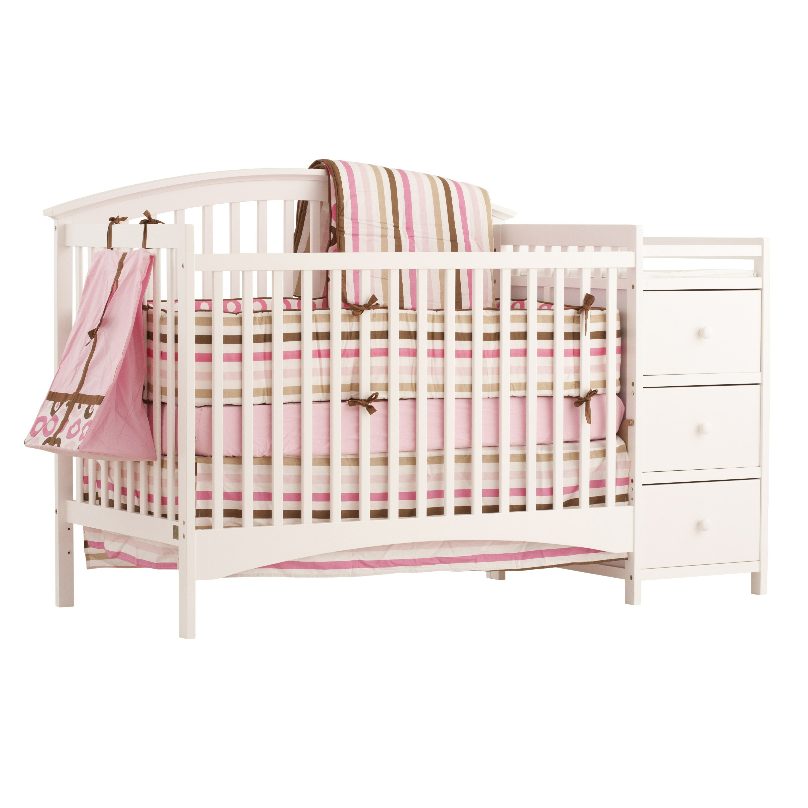 Crib for sale louisville ky - Storkcraft Bradford 4 In 1 Convertible Crib And Changer Combo