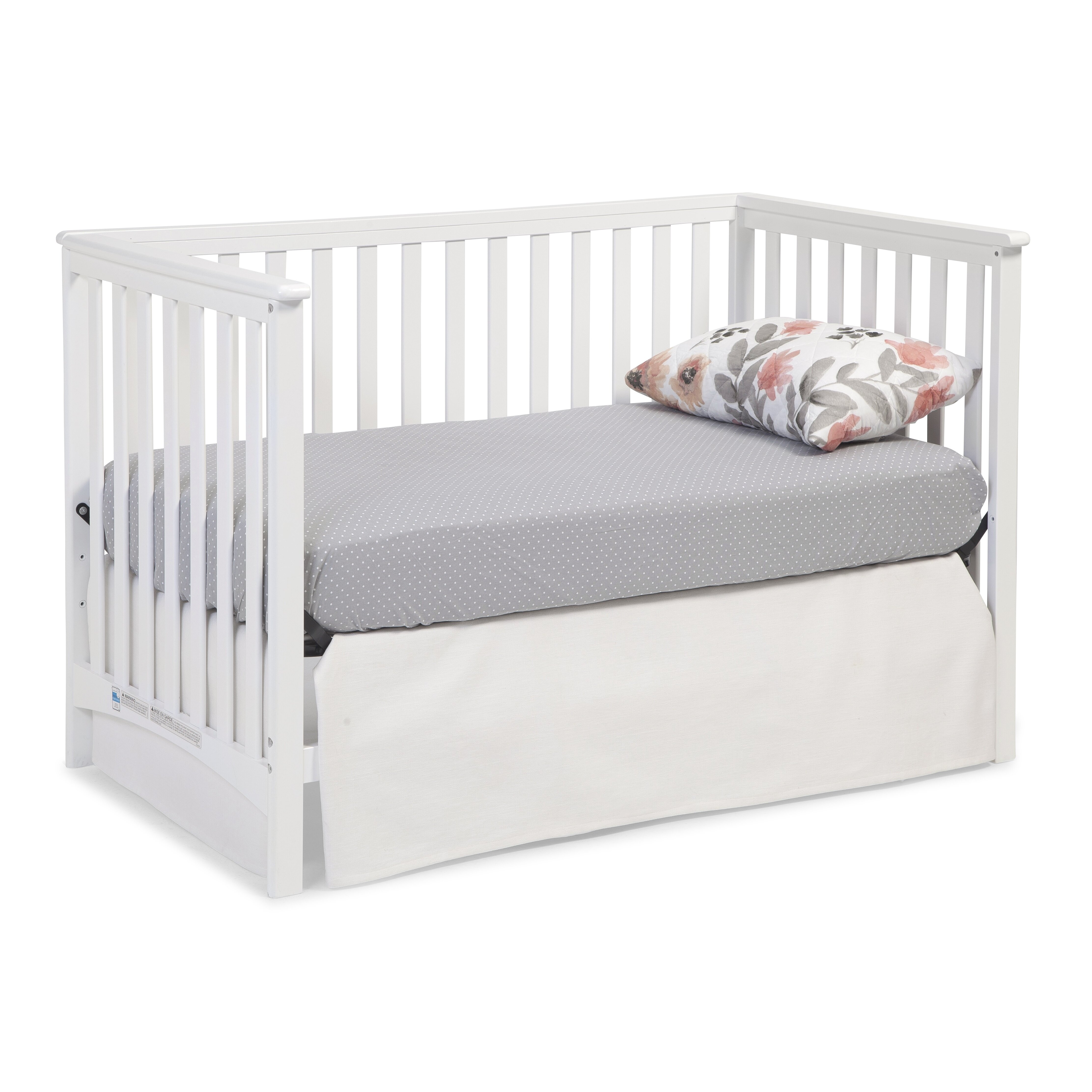 Crib spring frame for sale - Storkcraft Hillcrest 3 In 1 Convertible Crib