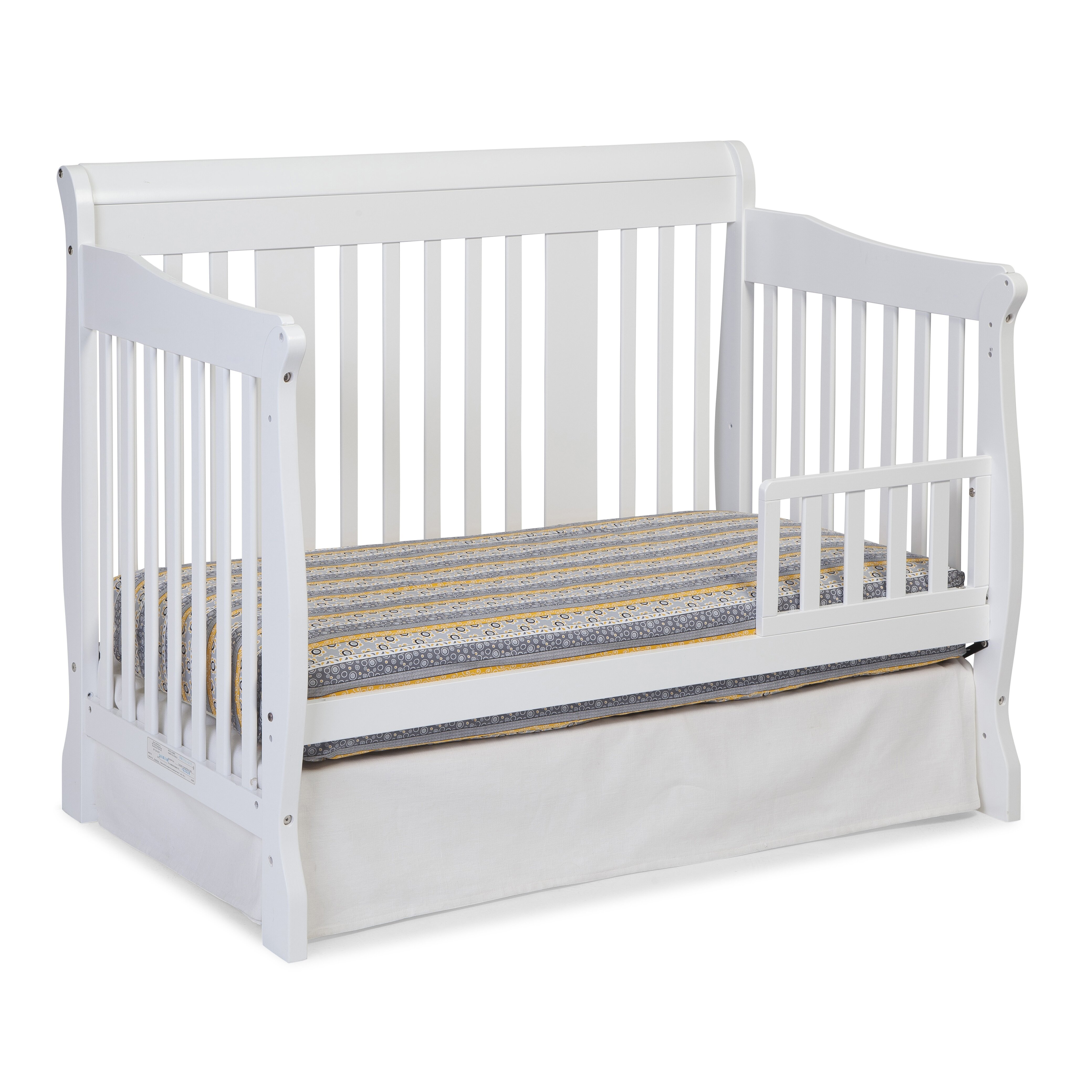 storkcraft tuscany 4 in 1 convertible crib reviews wayfair. Black Bedroom Furniture Sets. Home Design Ideas