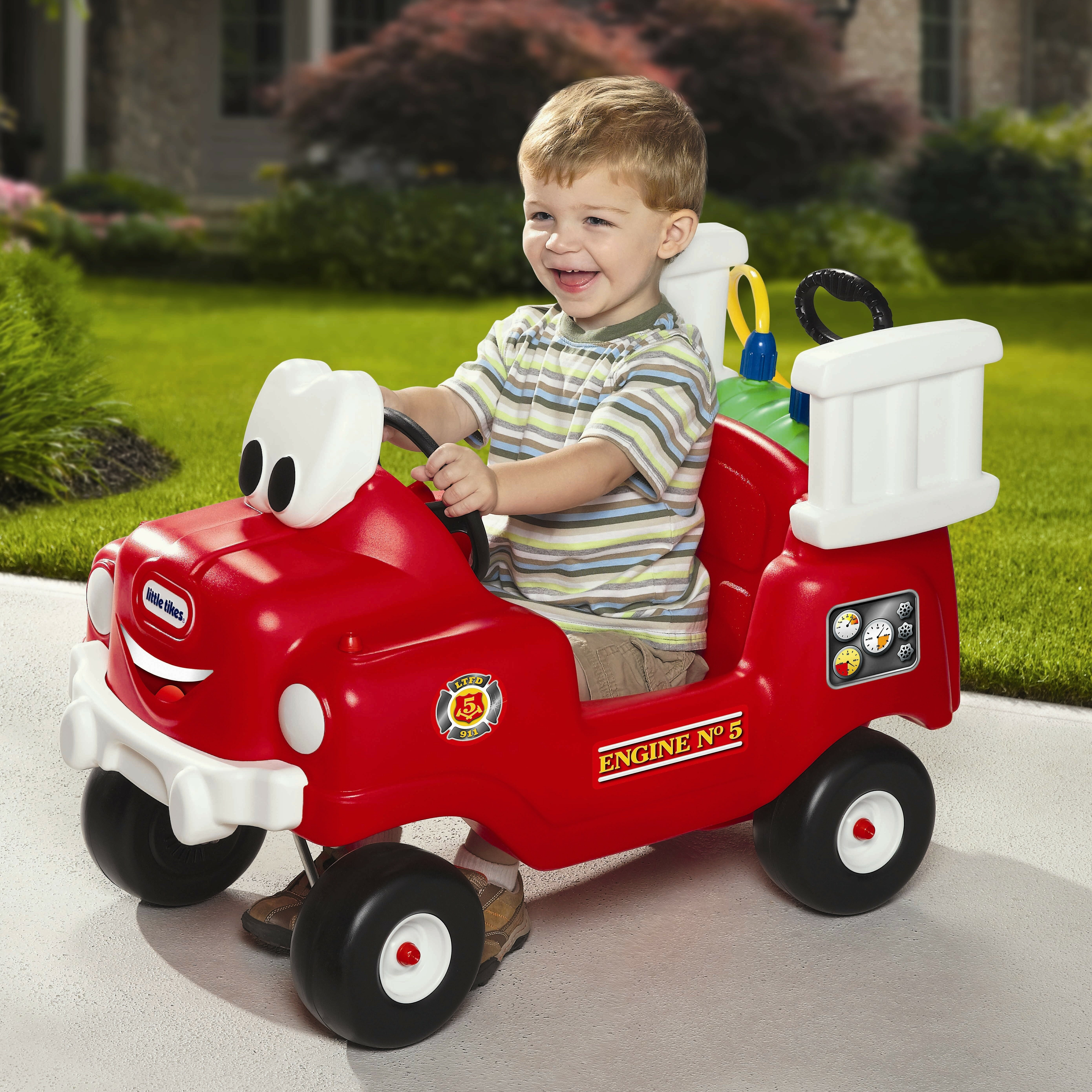 Little tikes lightning mcqueen toddler bed - Little Tikes Spray And Rescue Push Fire Truck Little Tikes Fire Truck Toddler Bed