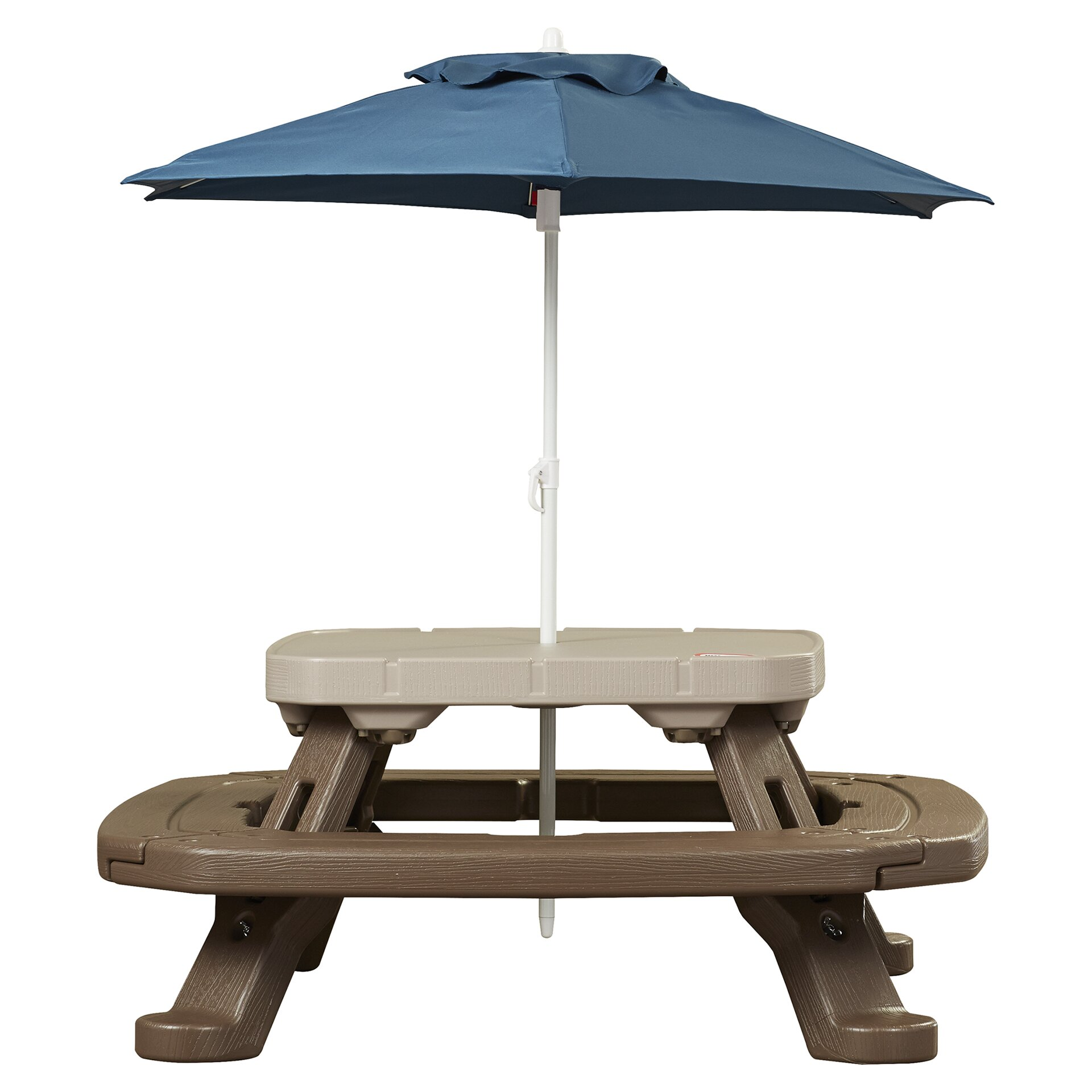 Little Tikes Endless Adventures Fold N Store Umbrella Picnic Table. Download