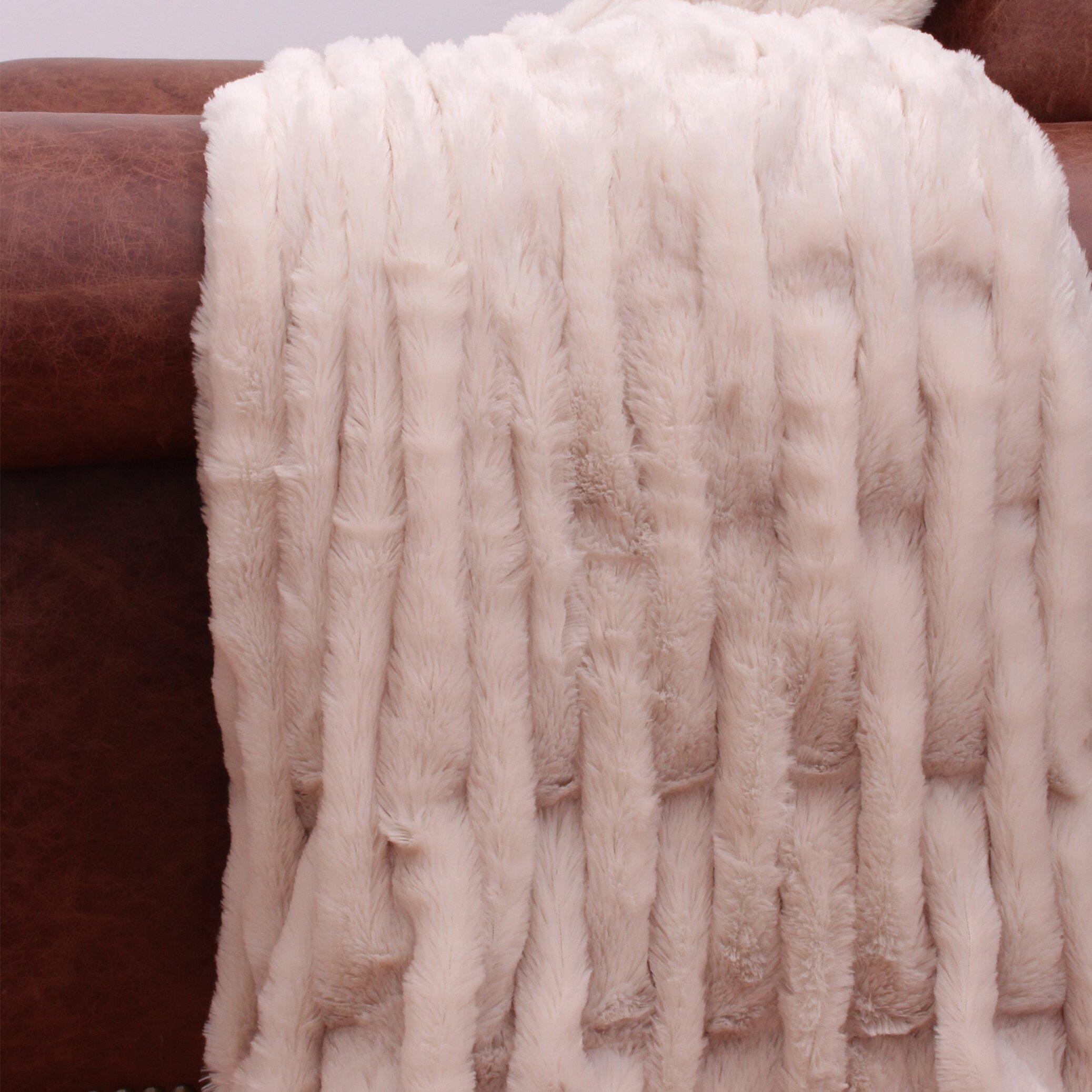 Marlo Furniture Reviews ... ... Faux Fur Blankets & Throws Thro by Marlo Lorenz SKU: THR1821