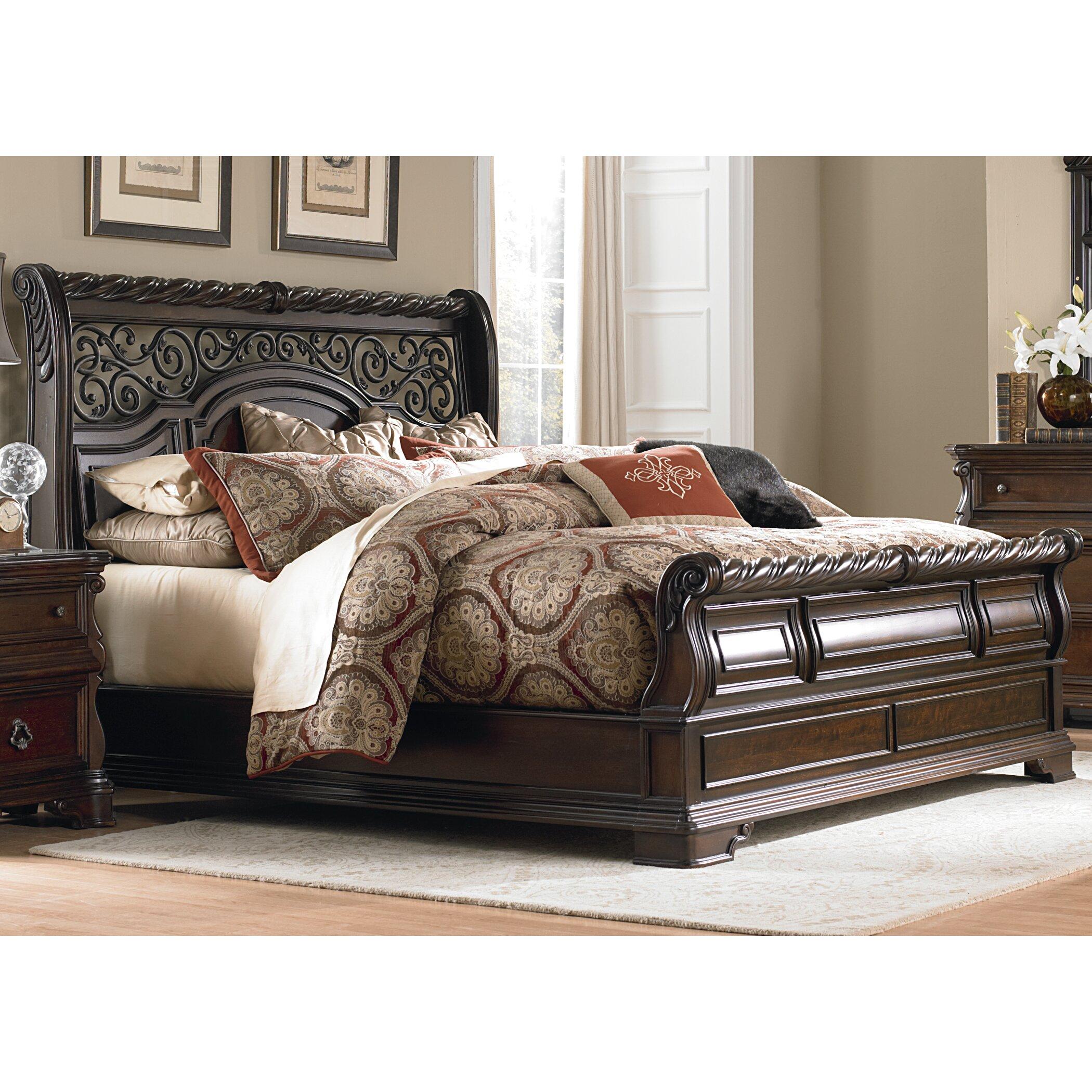 Liberty Furniture Bedroom Sets Liberty Furniture Arbor Place Sleigh Bed Reviews Wayfair
