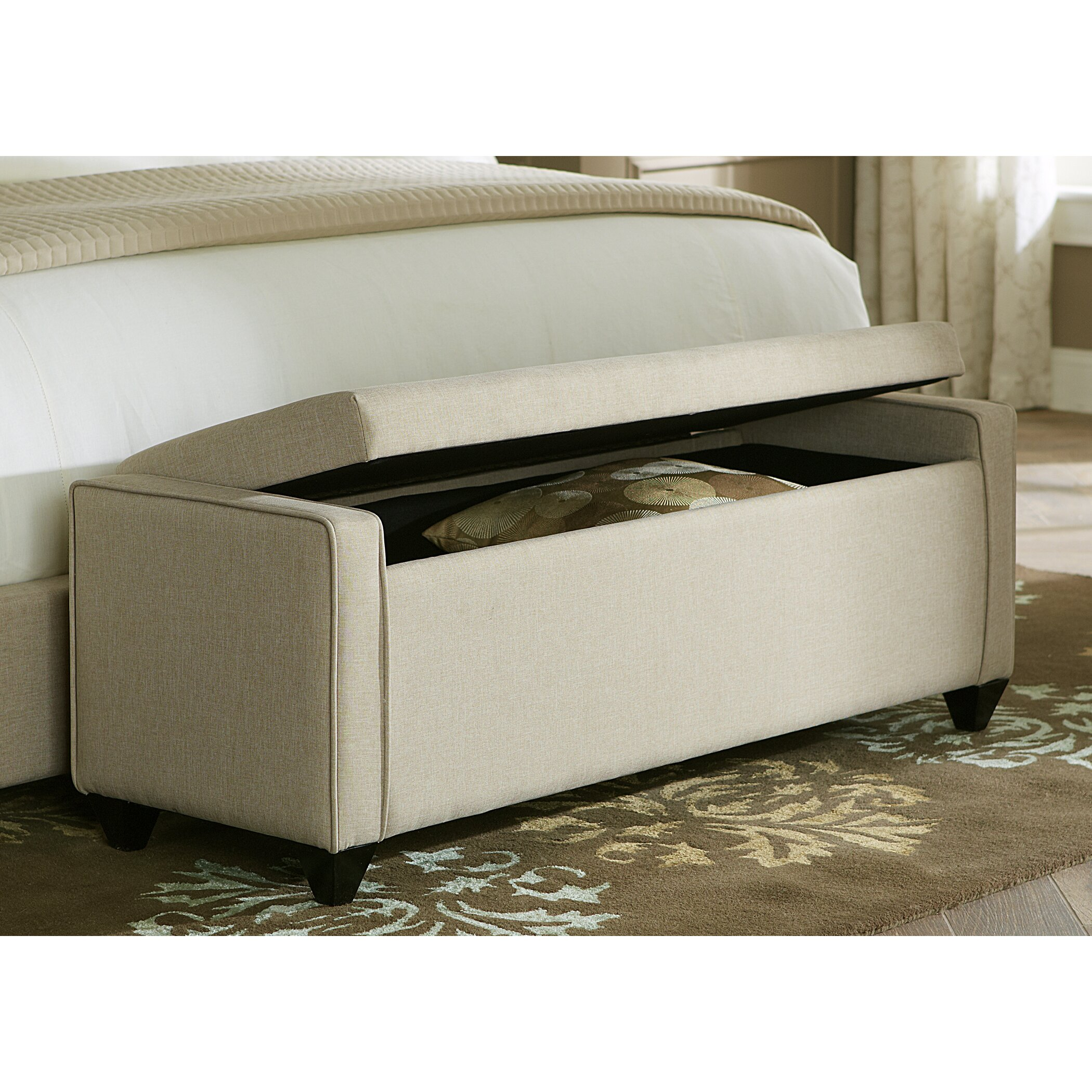 Bedroom Bench Storage Liberty Furniture Upholstered Storage Bedroom Bench Reviews