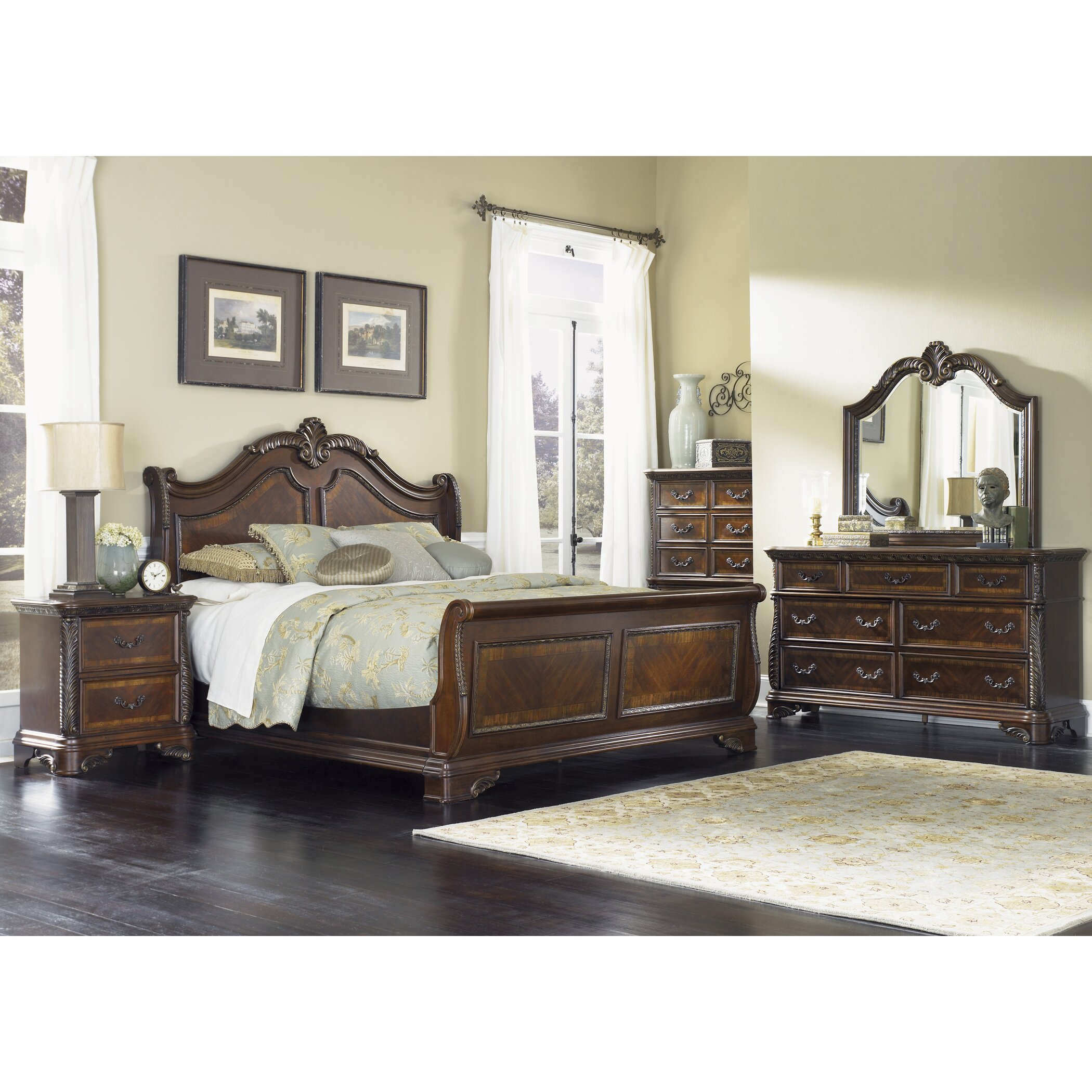 Liberty Furniture Bedroom Liberty Furniture Highland Court Panel Customizable Bedroom Set