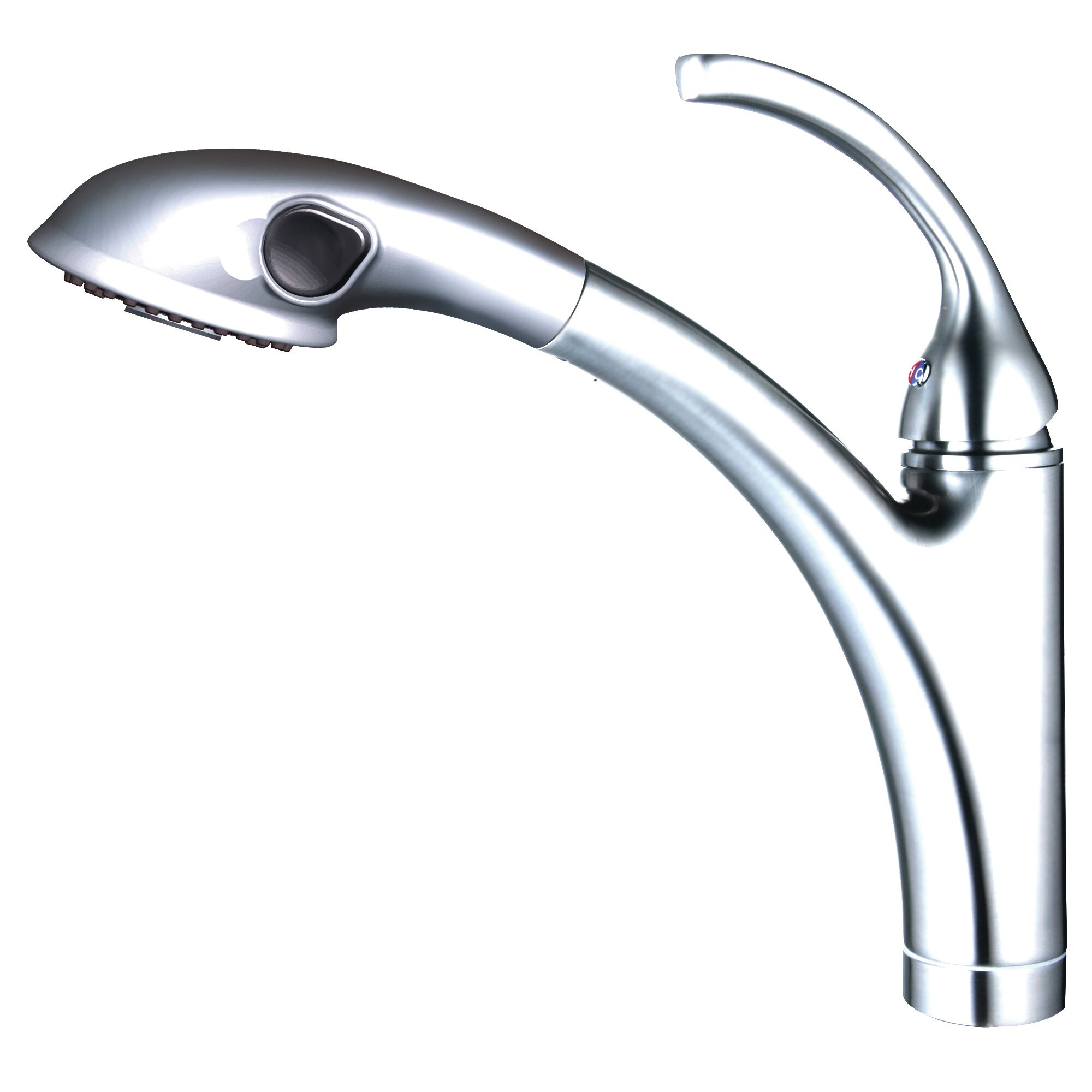 Yosemite home decor single handle single hole kitchen faucet with pull out spout sprayer Design house kitchen faucets reviews