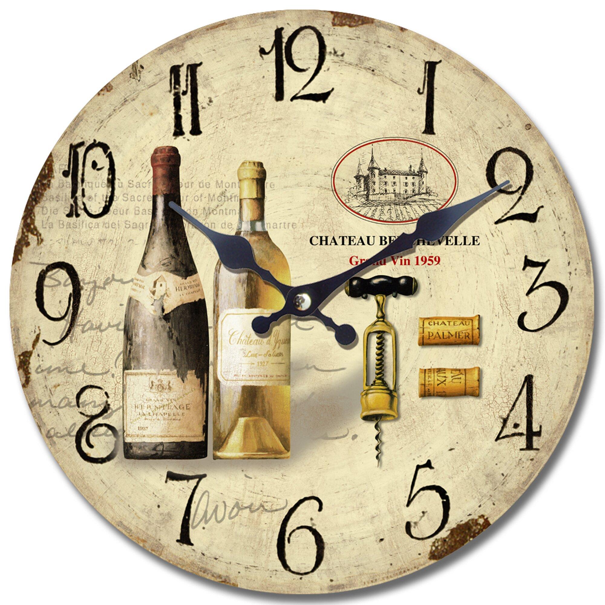 "Yosemite Home Decor 13.5"" Wall Clock & Reviews | Wayfair"