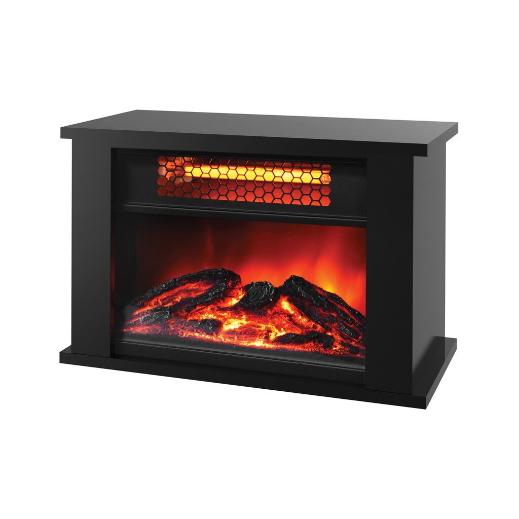 Lifesmart Lifezone 750 Watts Table Top Infrared Heater With Fireplace Display Reviews Wayfair