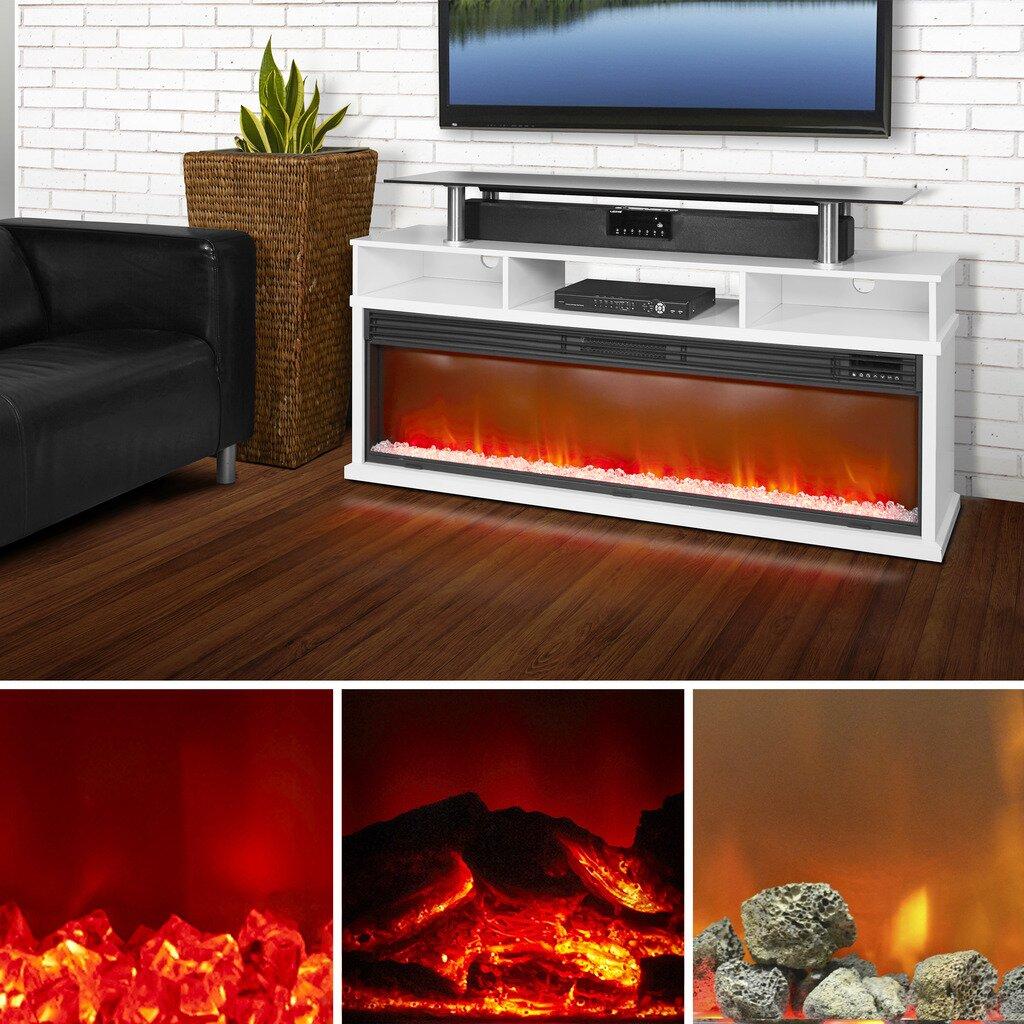 Lifelux Media Center Fireplace | AllModern