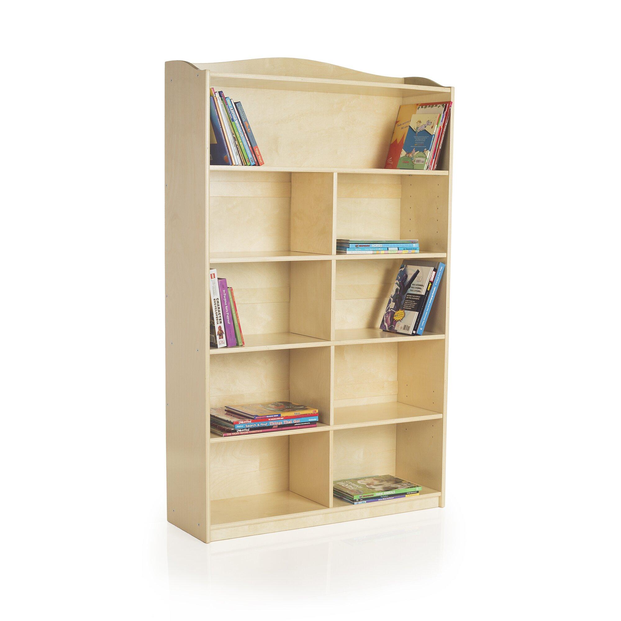 Guidecraft Single Sided 60 Bookcase Reviews Wayfair