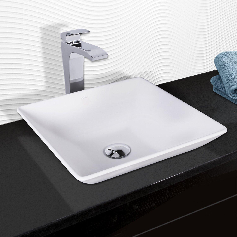 Bathroom Faucet. Vigo Single Lever Vessel Bathroom Faucet. Randolph ...