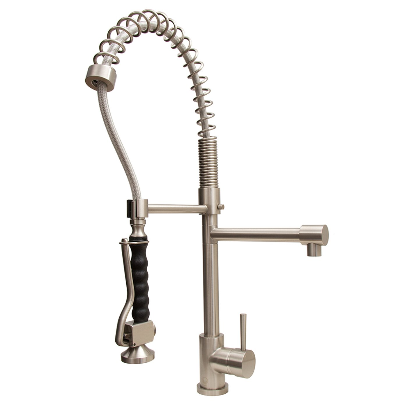 Vigo Zurich Single Handle Pull Down Spray Kitchen Faucet