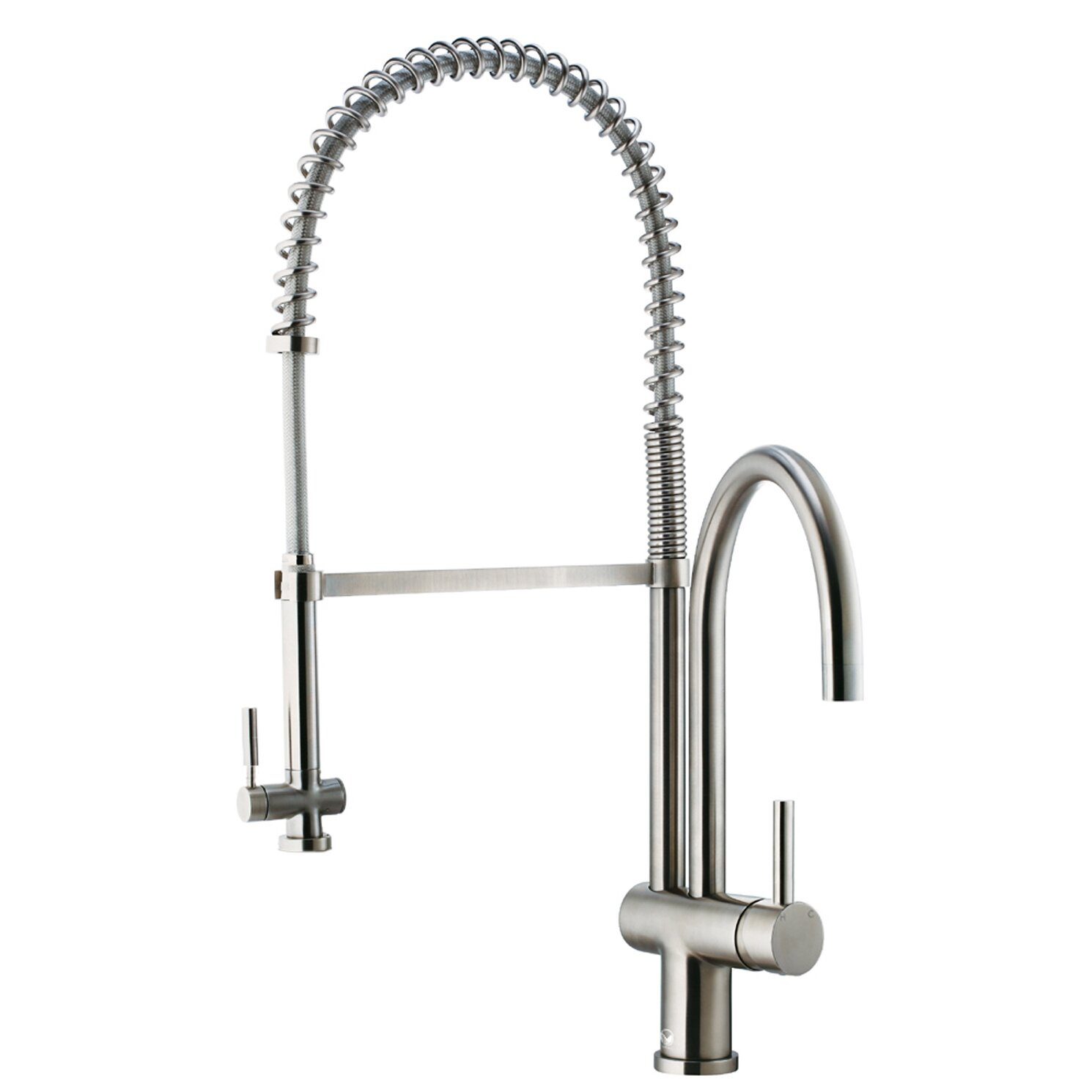 Most Reliable Kitchen Faucets Vigo Dresden Pull Down Spray Kitchen Faucet Reviews Wayfair