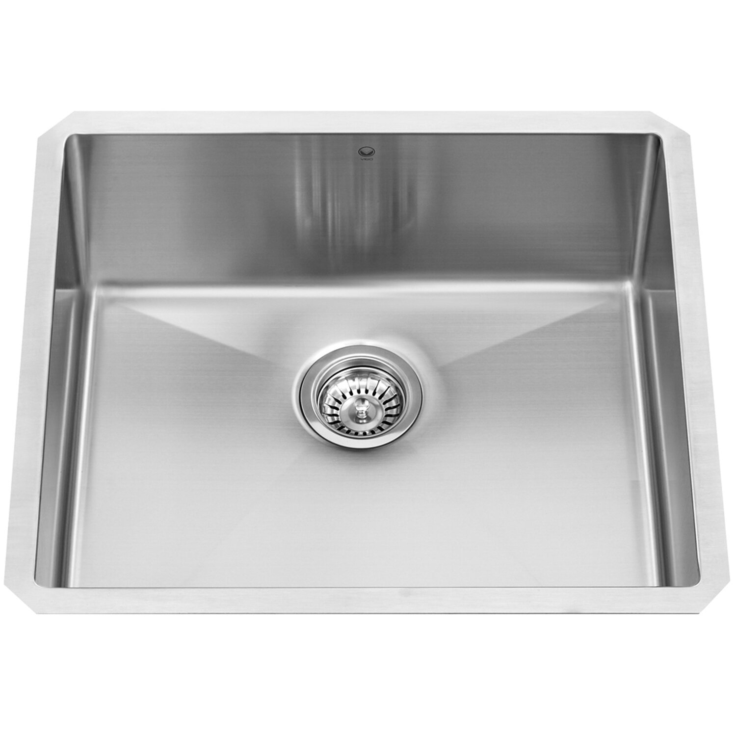 White Kitchen Sink Undermount Vigo Stainless Steel Single Bowl 23 X 20 Undermount Kitchen Sink