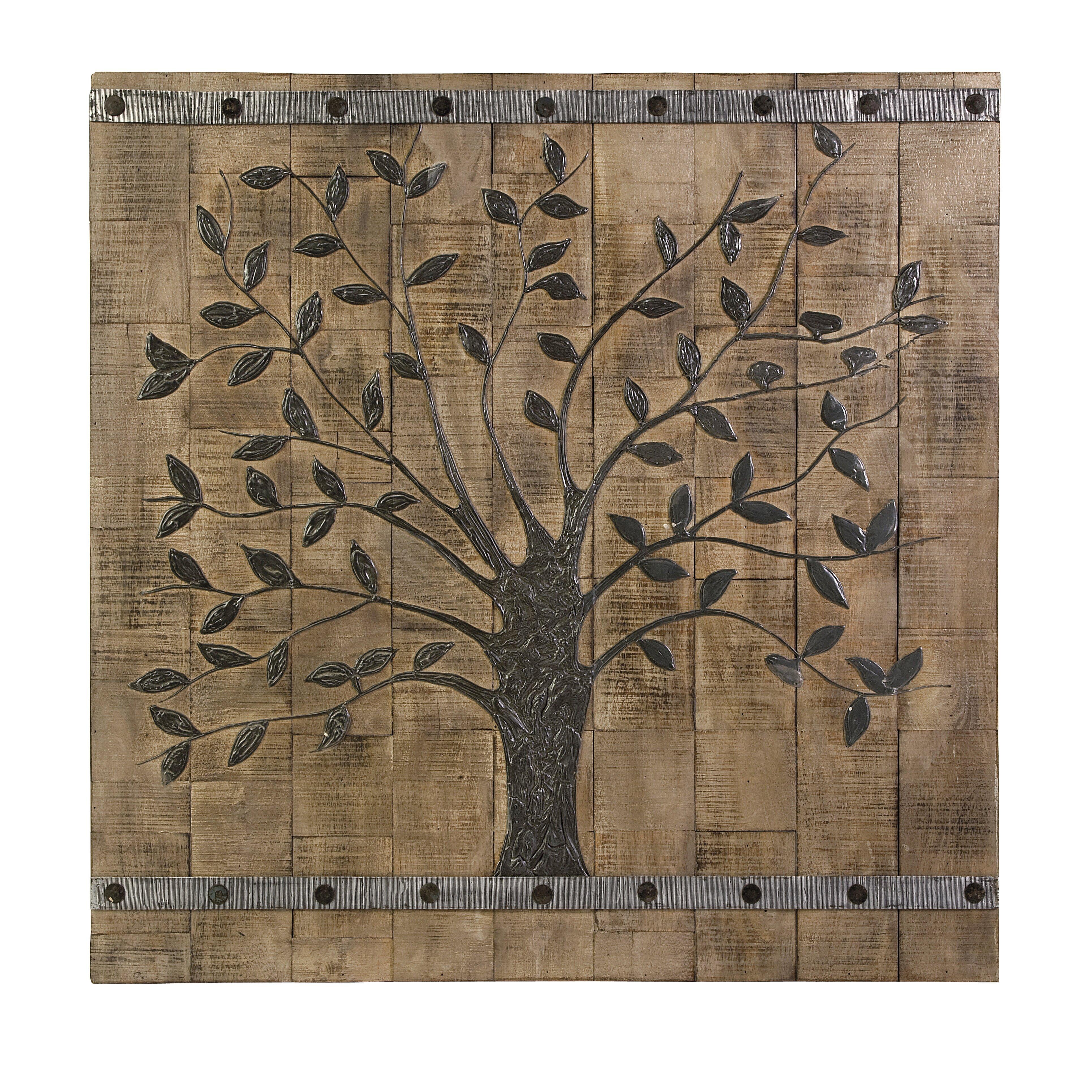 IMAX Decorative Tree of Life Wood Wall Du0026eacute;cor