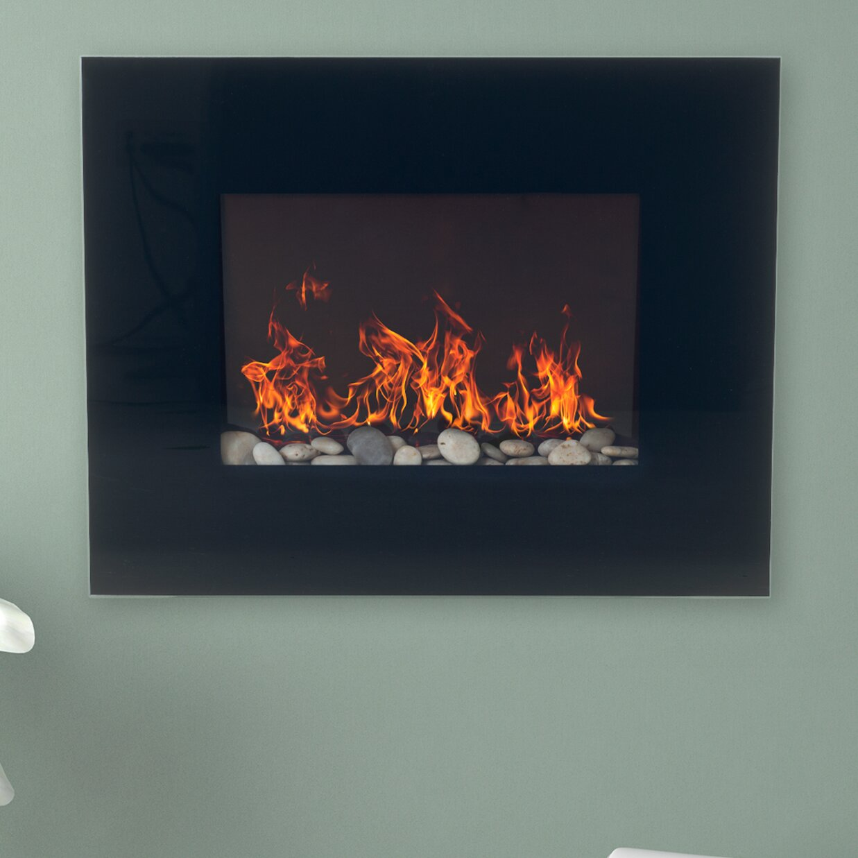 Northwest Wall Mount Electric Fireplace - Northwest Wall Mount Electric Fireplace & Reviews Wayfair