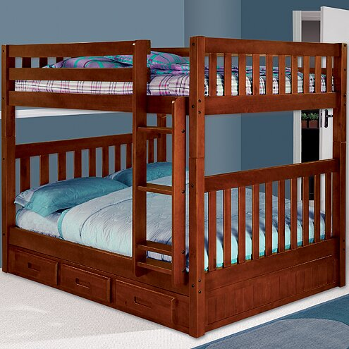 Discovery World Furniture Weston Full over Full Bunk Bed