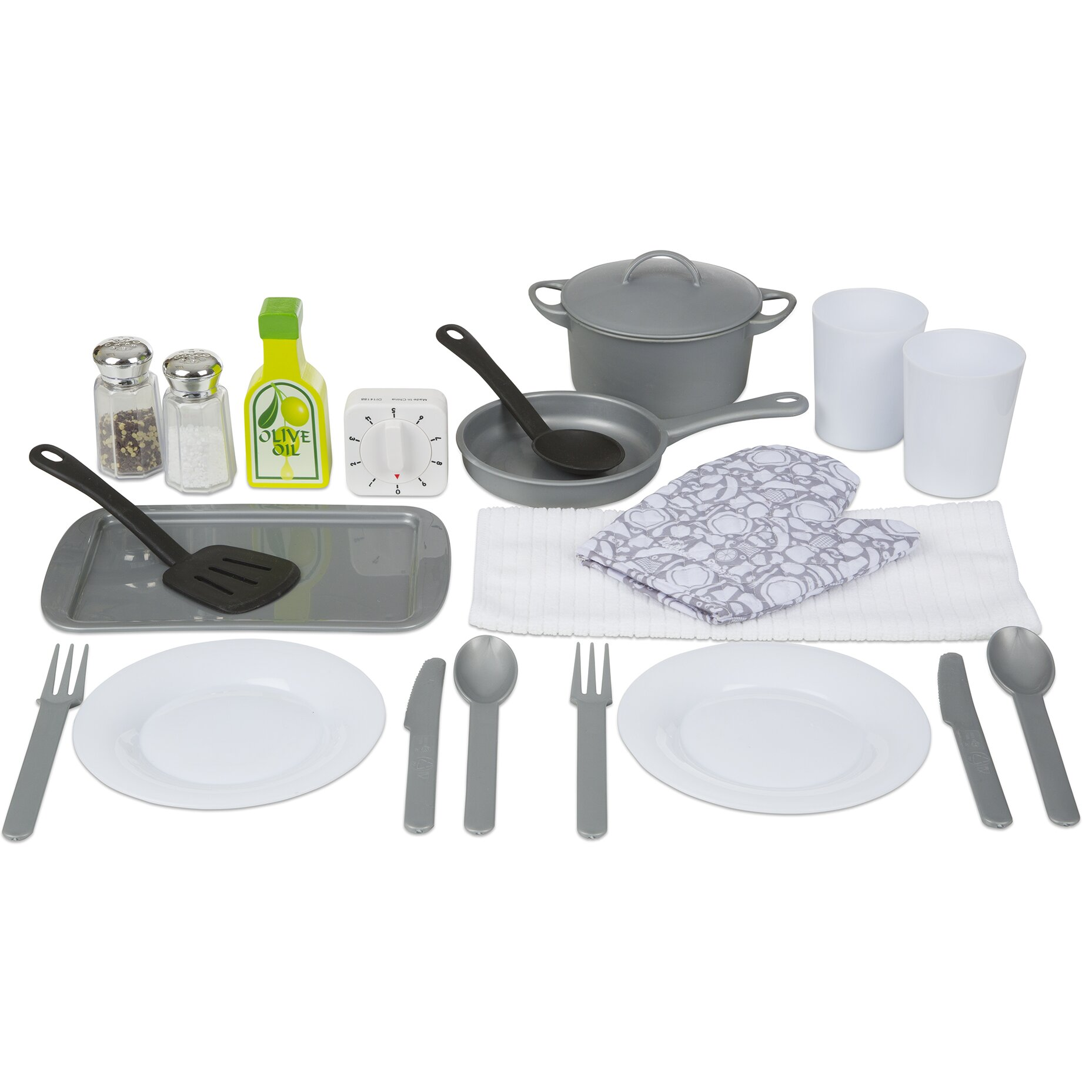 Kitchen Accessory Melissa Doug 20 Piece Kitchen Accessory Set Reviews Wayfair