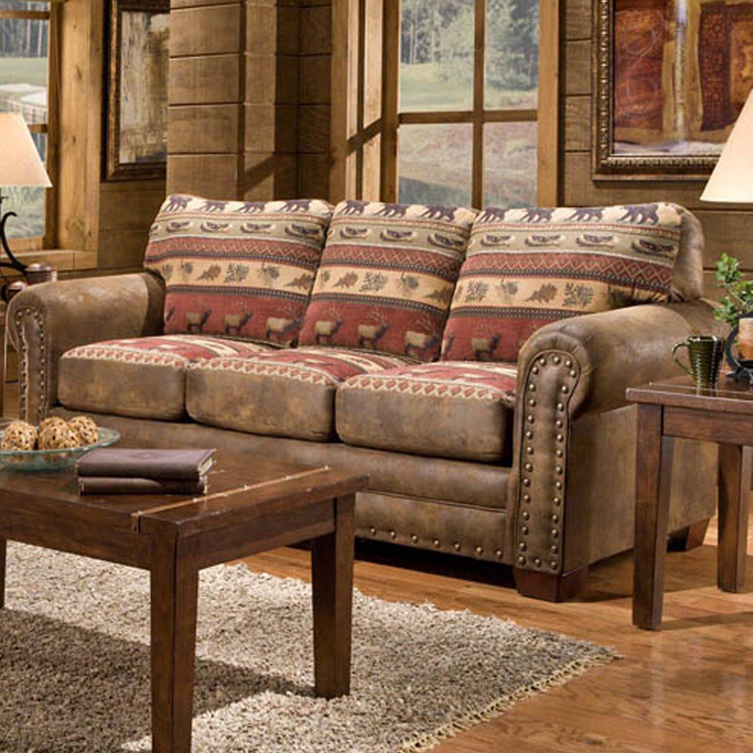 Wayfair Living Room Furniture American Furniture Classics Lodge Sierra Sofa Reviews Wayfair