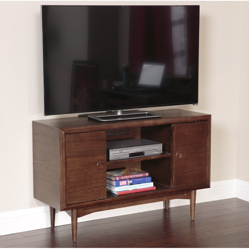 american furniture classics mid century tv stand reviews. Black Bedroom Furniture Sets. Home Design Ideas