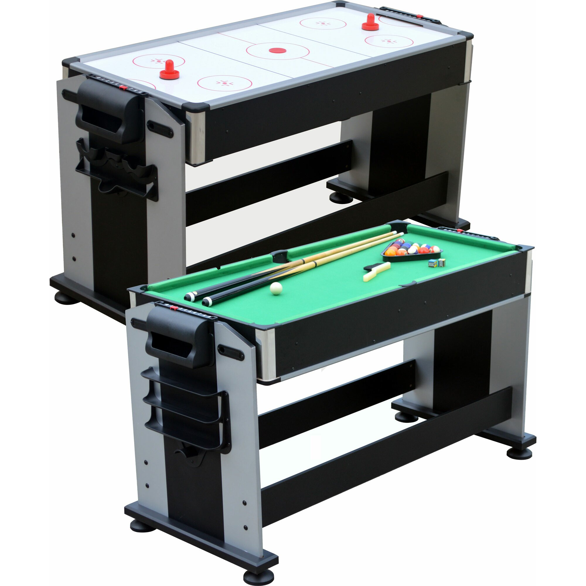 3 in 1 ping pong pool air hockey table - Playcraft 2 In 1 Sport Junior Air Hockey And Pool Table