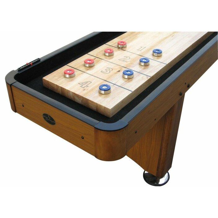 Playcraft Woodbridge Honey Oak 12 Shuffleboard Table