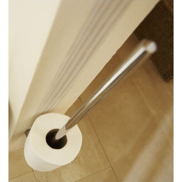 Blomus duo wall mounted toilet roll holder reviews Glass toilet roll holder